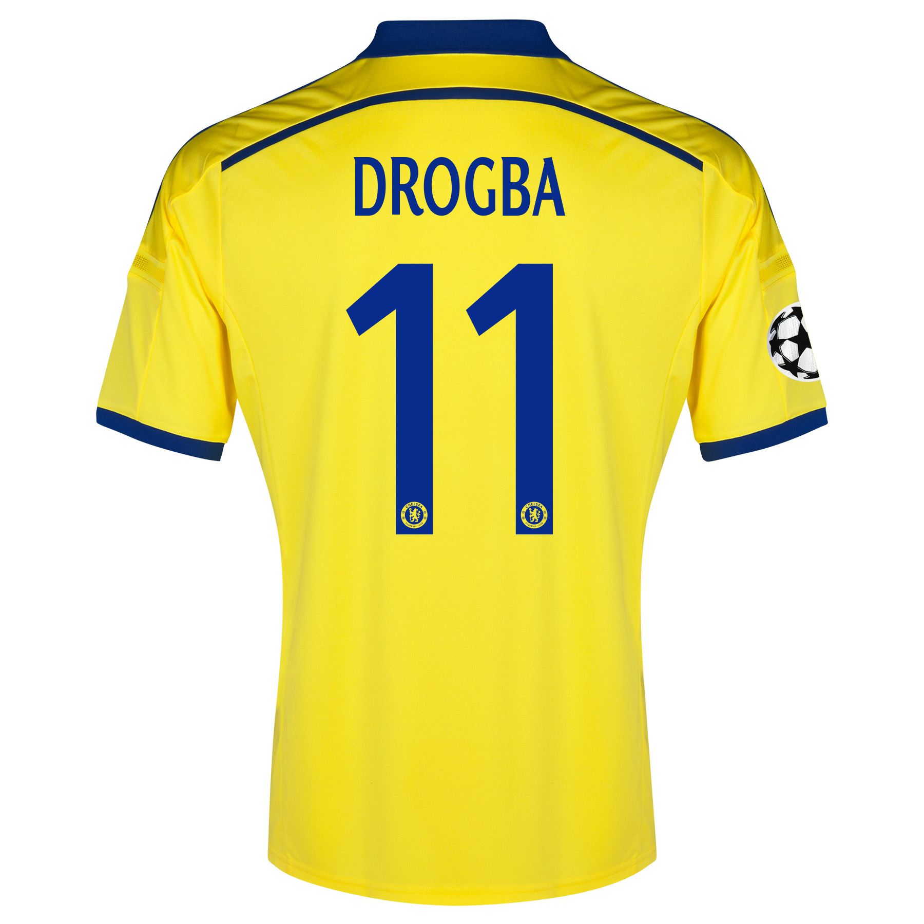 Chelsea Away Shirt 2014/15 - Kids with Drogba 11 printing