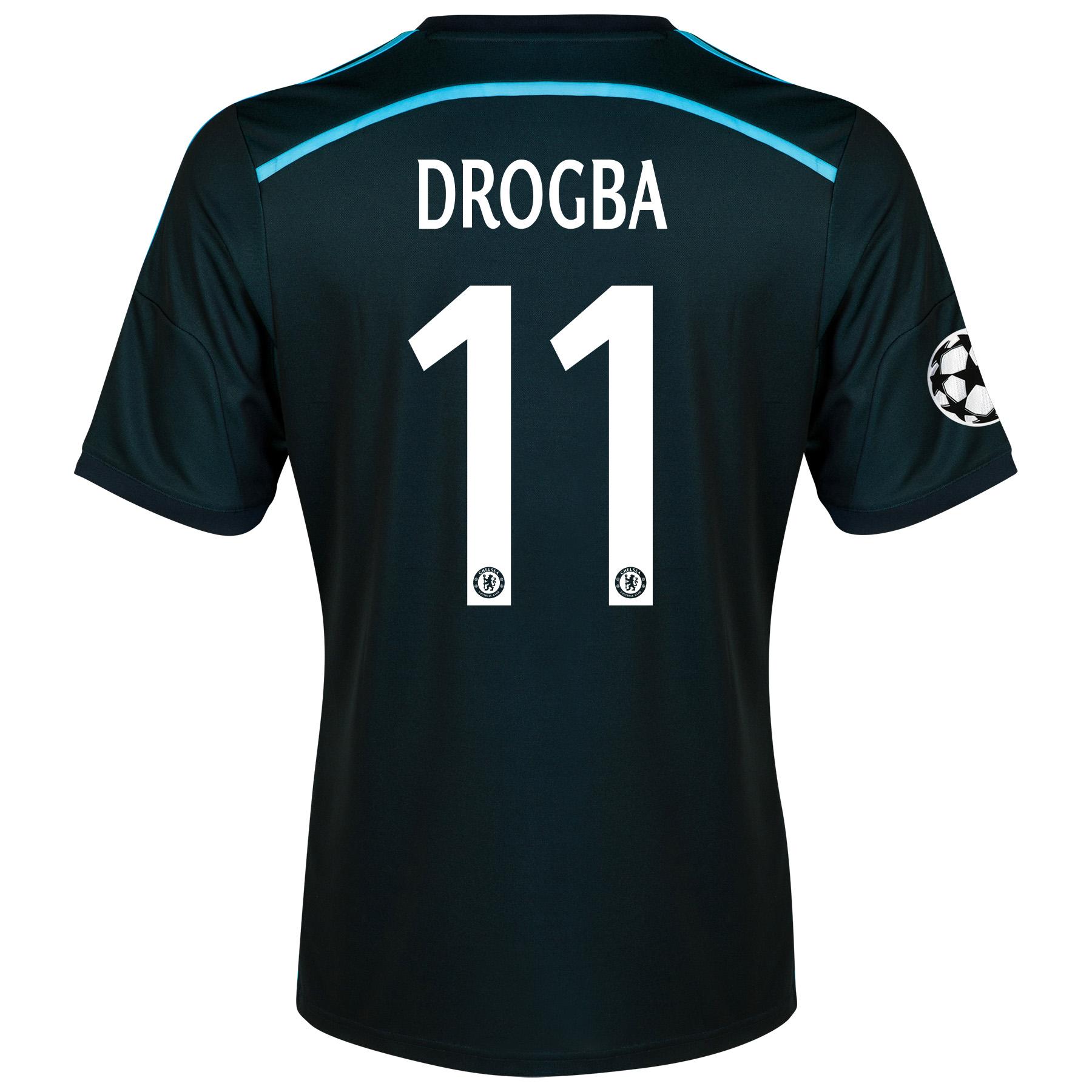 Chelsea Third Shirt 2014/15 - Kids with Drogba 11 printing