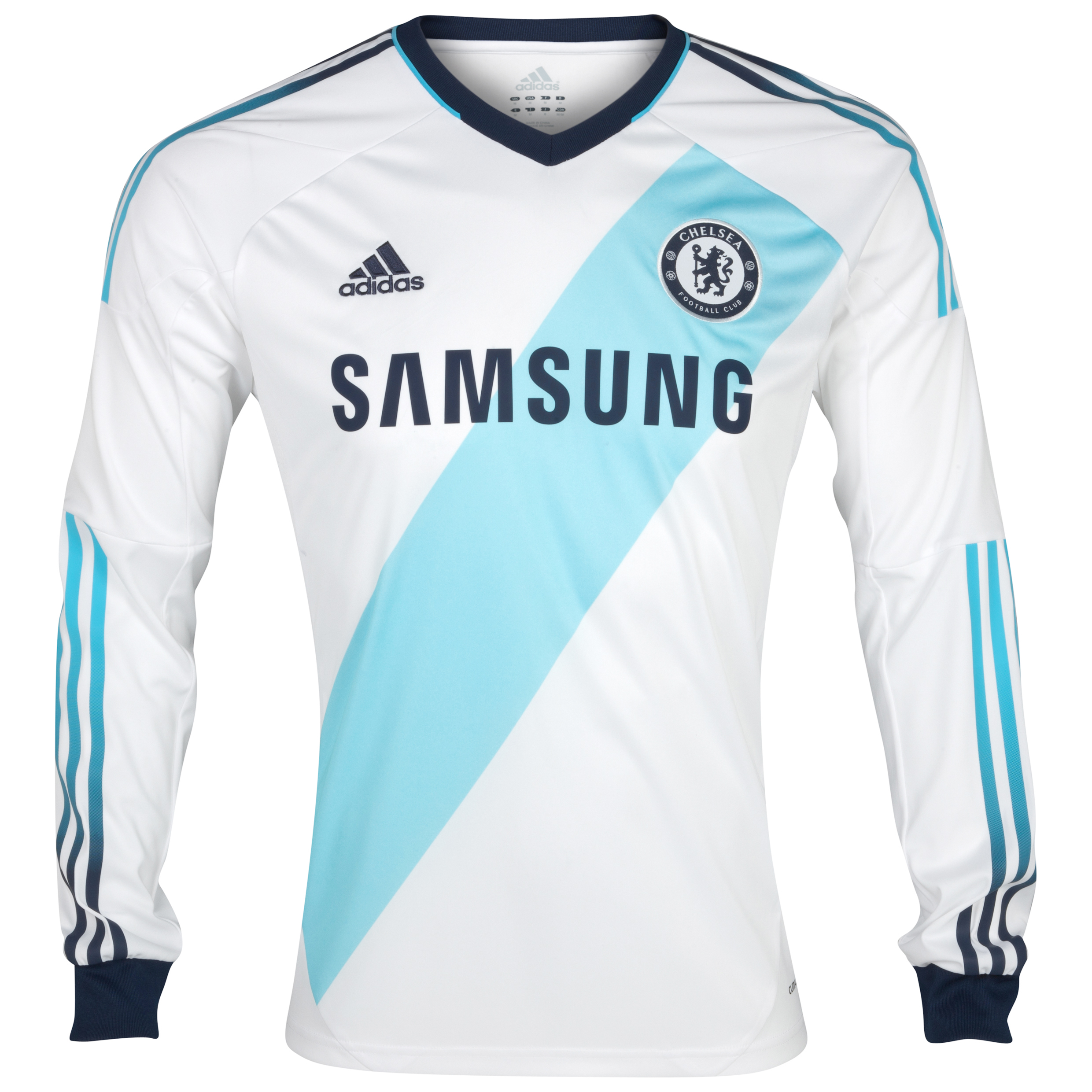 Chelsea Away Shirt 2012/13 Long Sleeved Kids