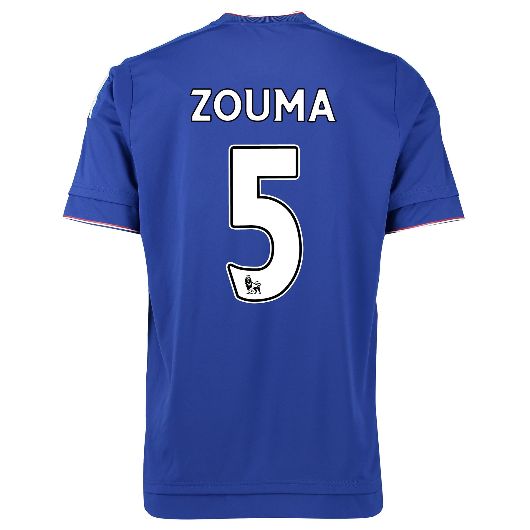 Chelsea Home Shirt 2015/16  with ZOUMA 5 printing