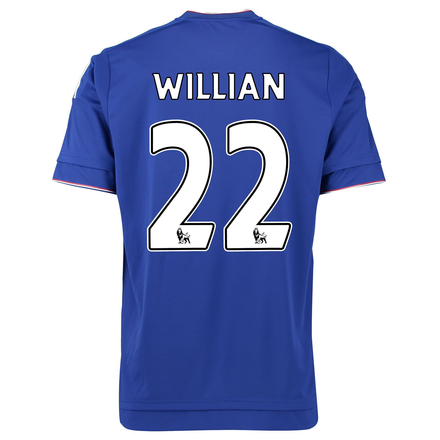 Chelsea Home Shirt 2015/16 Kids Blue with Willian 22 printing