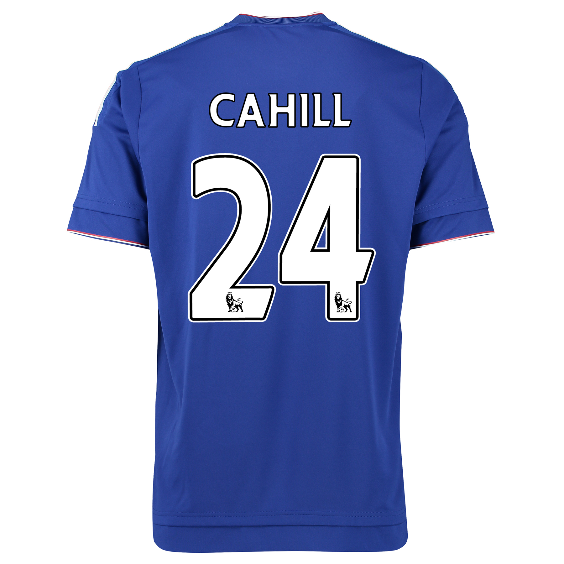 Chelsea Home Shirt 2015/16 Kids Blue with Cahill 24 printing