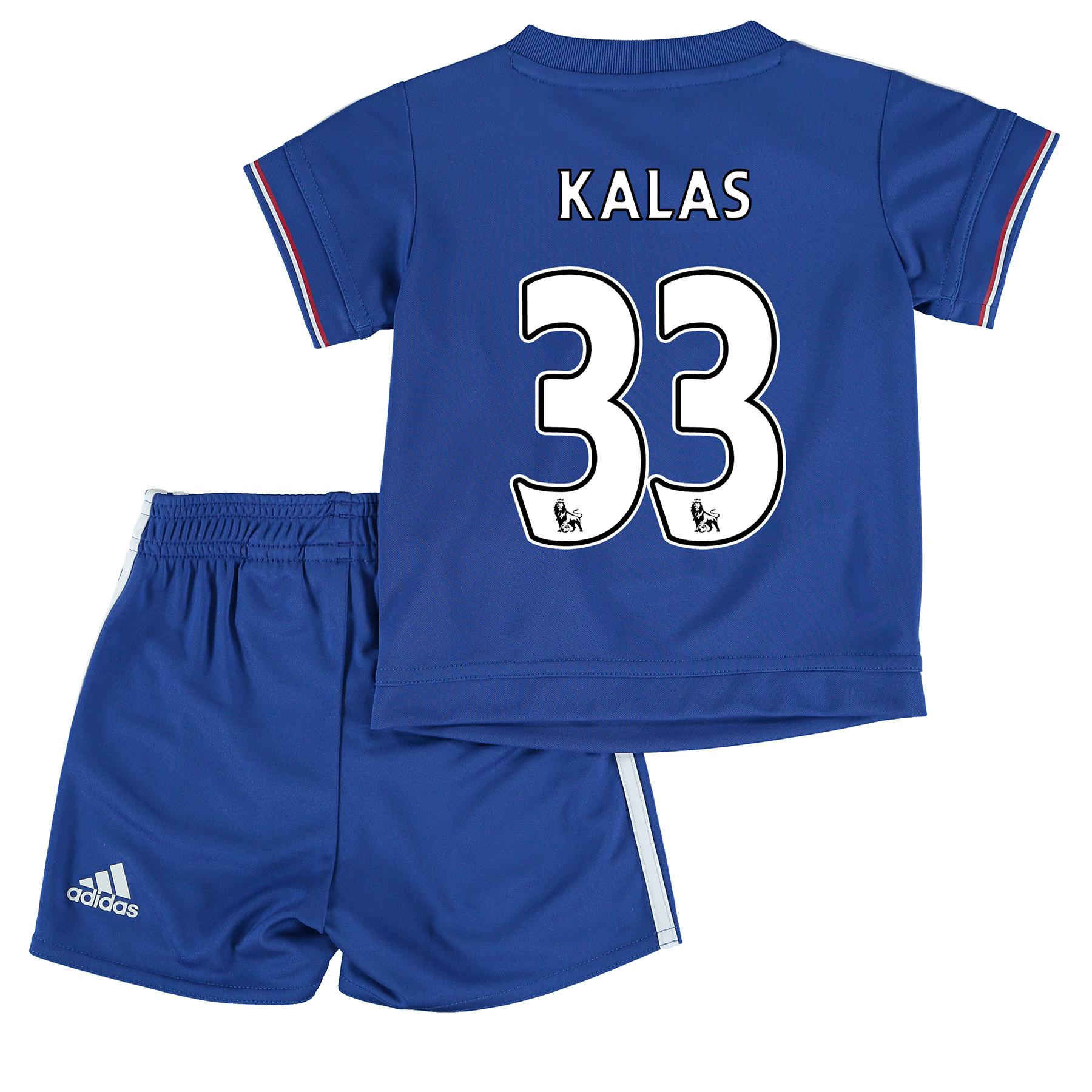Chelsea Home Mini Kit 2015/16 Blue with Kalas 33 printing