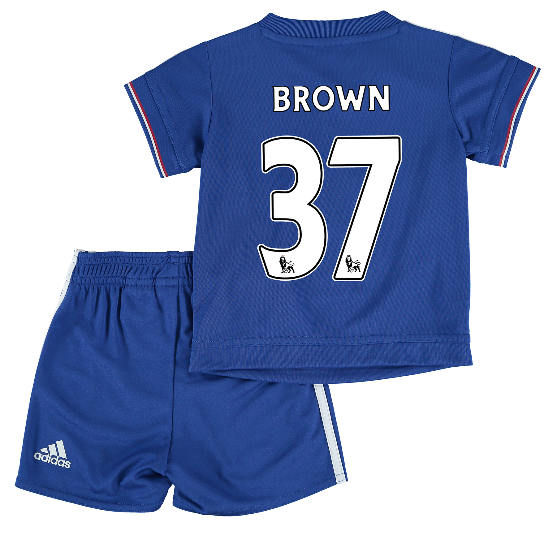 Chelsea Home Mini Kit 2015/16 Blue with Brown 37 printing
