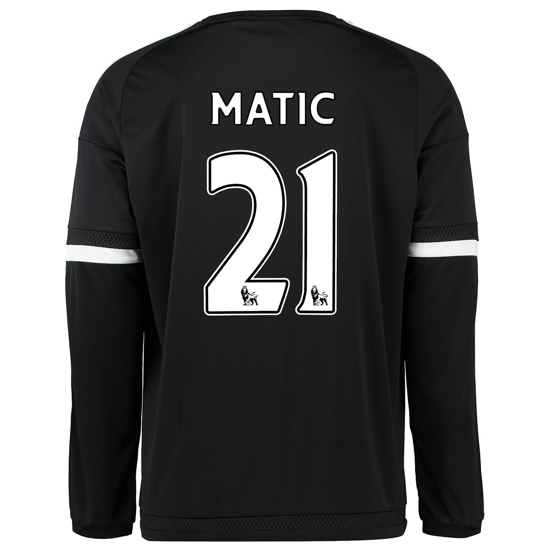 Chelsea Third Shirt 2015/16 - Long Sleeve Black with Matic 21 printing