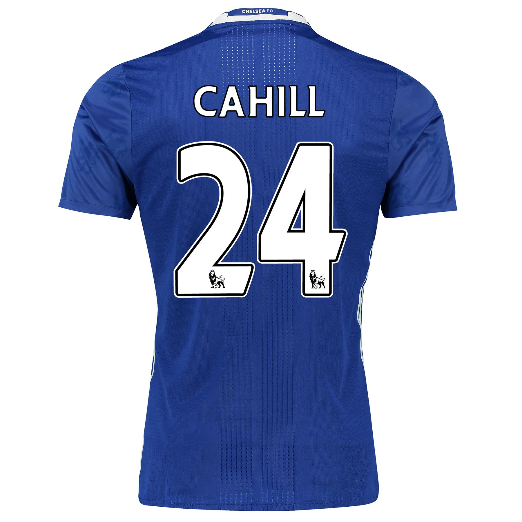 Chelsea Home Adi Zero Shirt 2016-17 with Cahill 24 printing