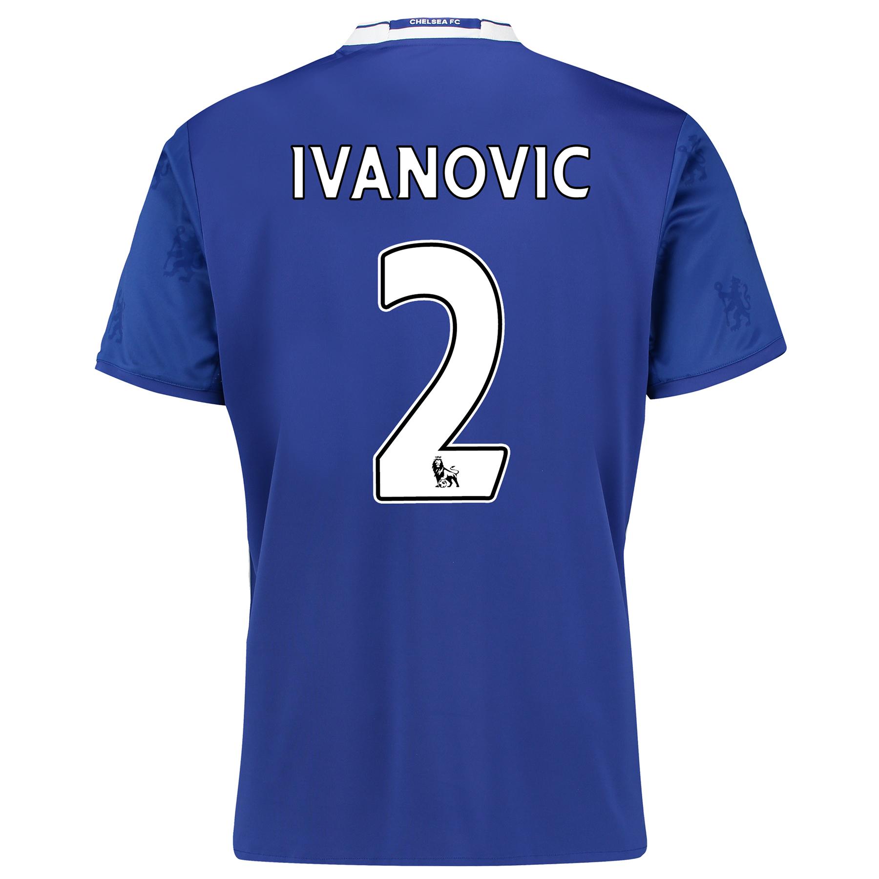 Chelsea Home Shirt 2016-17 with Ivanovic 2 printing