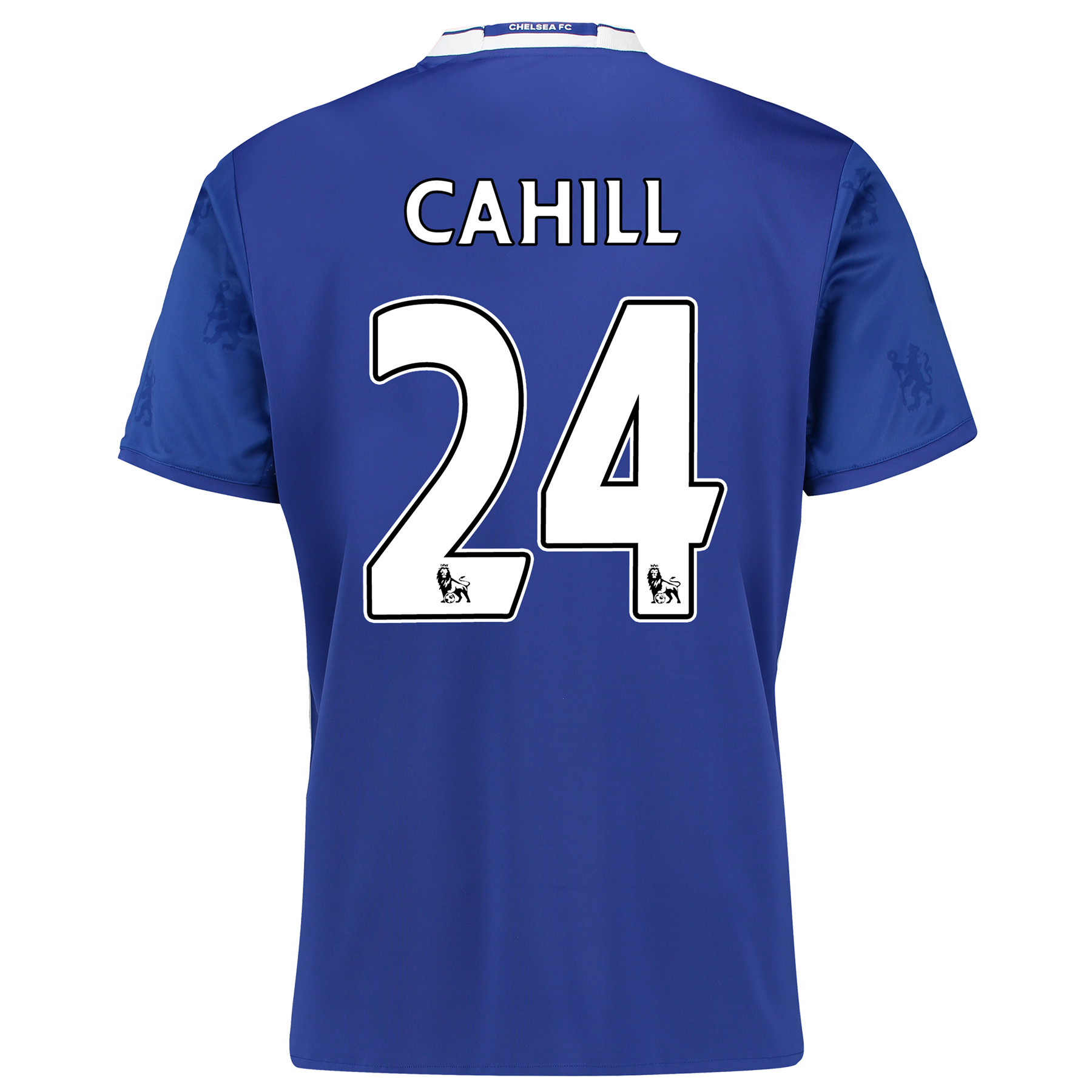 Chelsea Home Shirt 2016-17 with Cahill 24 printing