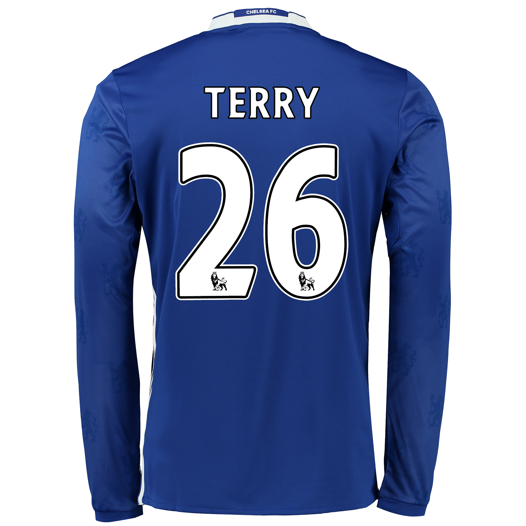 Chelsea Home Shirt 2016-17 - Long Sleeve with Terry 26 printing