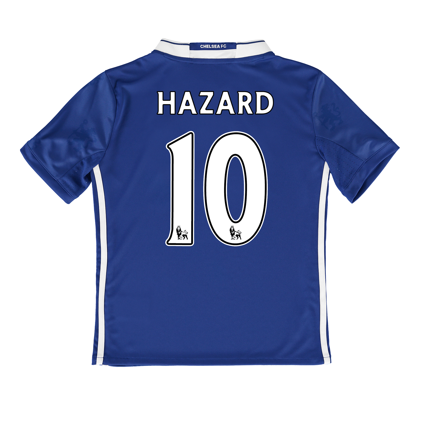 Chelsea Home Shirt 2016-17 - Kids with Hazard 10 printing