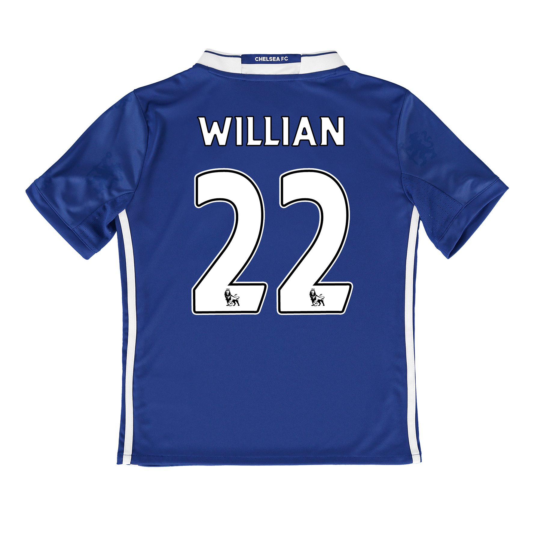 Chelsea Home Shirt 2016-17 - Kids with Willian 22 printing