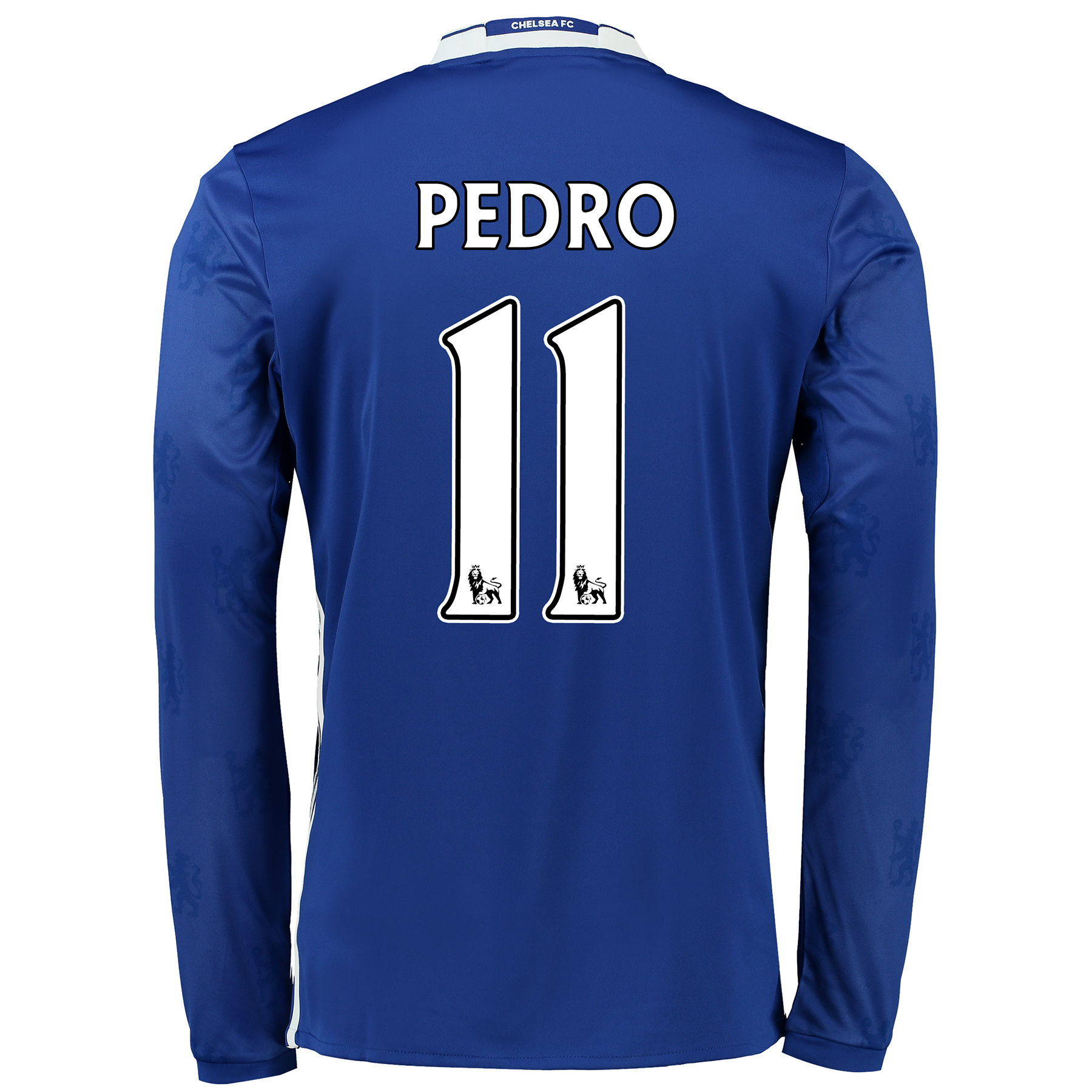 Chelsea Home Shirt 2016-17 - Kids - Long Sleeve with Pedro 11 printing