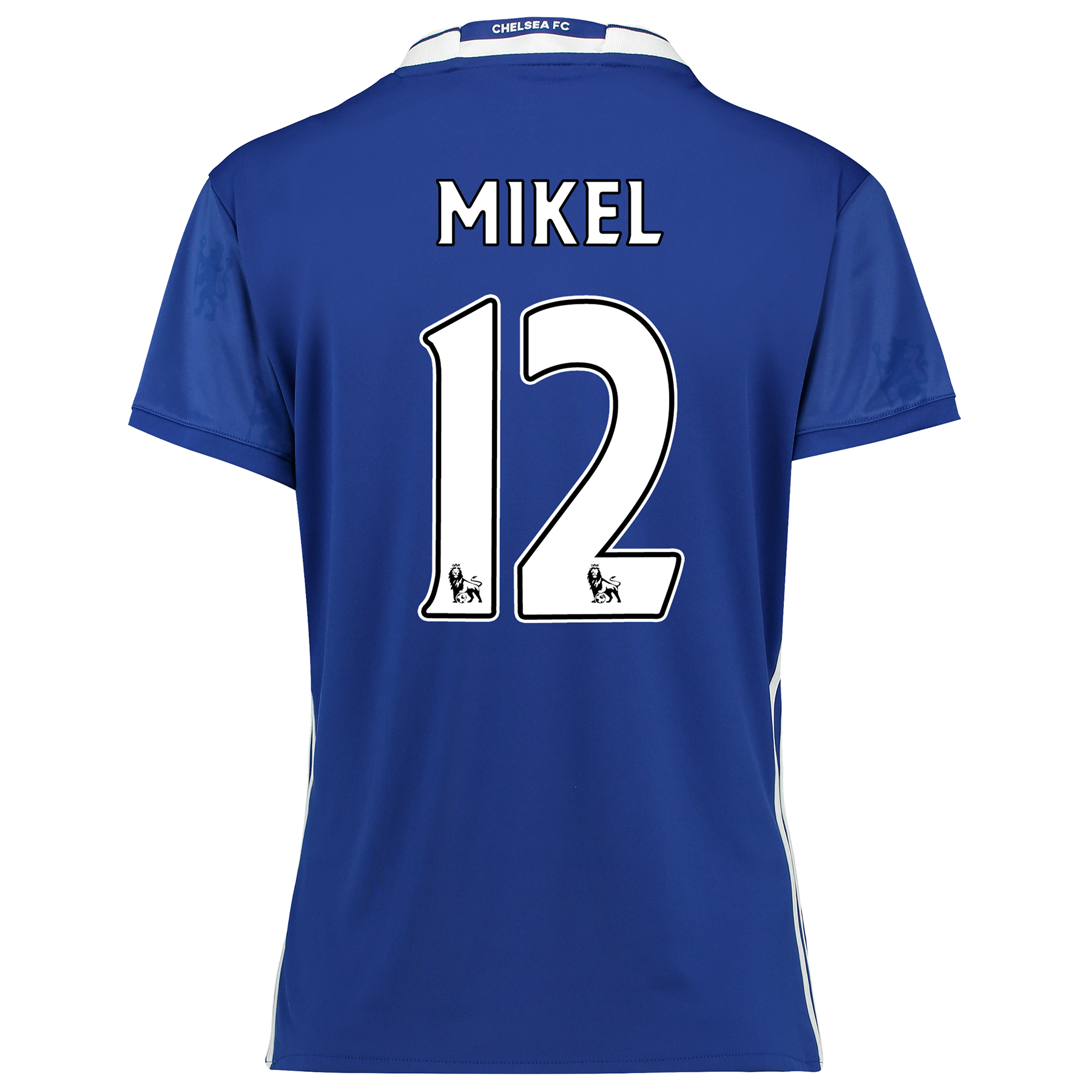 Chelsea Home Shirt 2016-17 - Womens Fit with Mikel 12 printing
