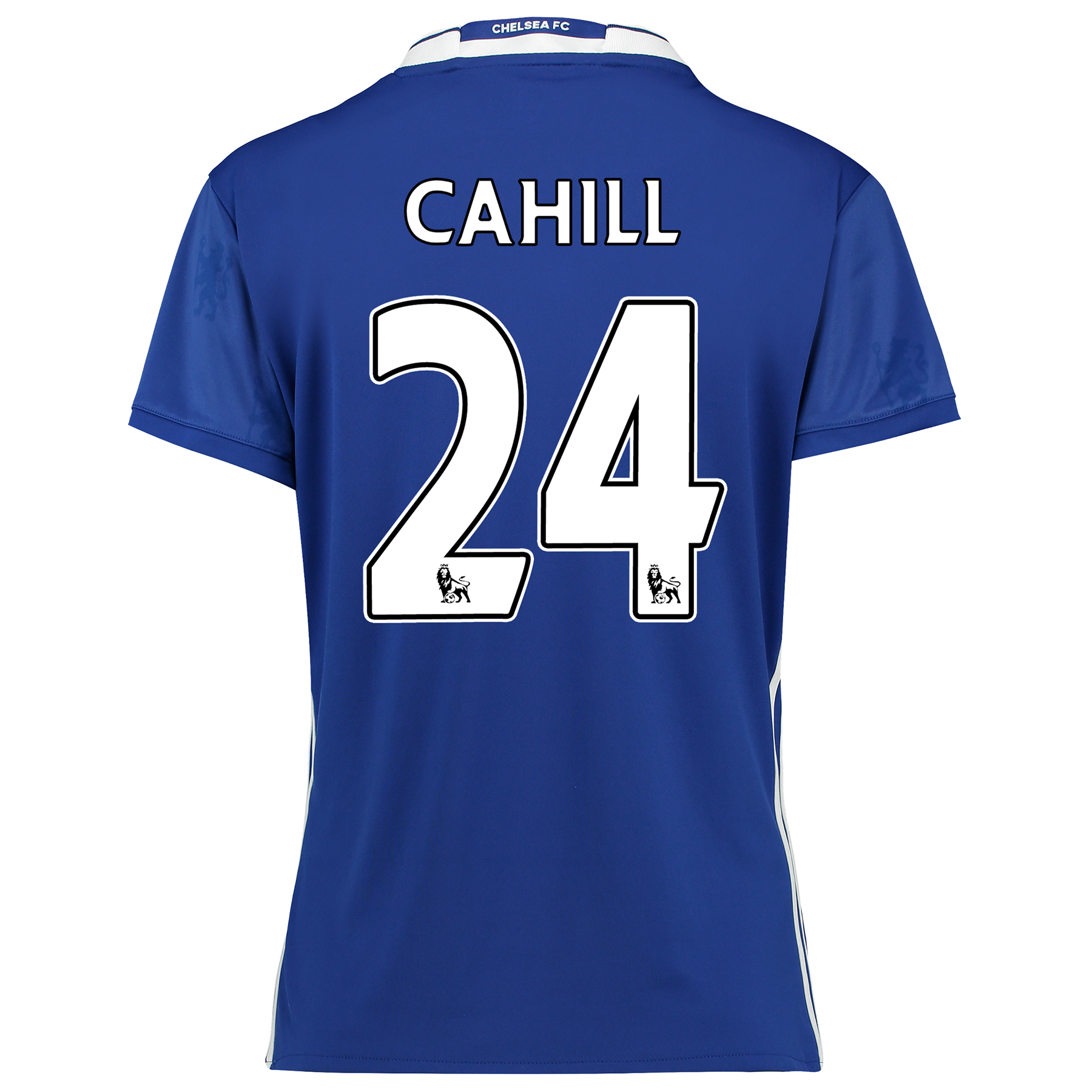 Chelsea Home Shirt 2016-17 - Womens Fit with Cahill 24 printing