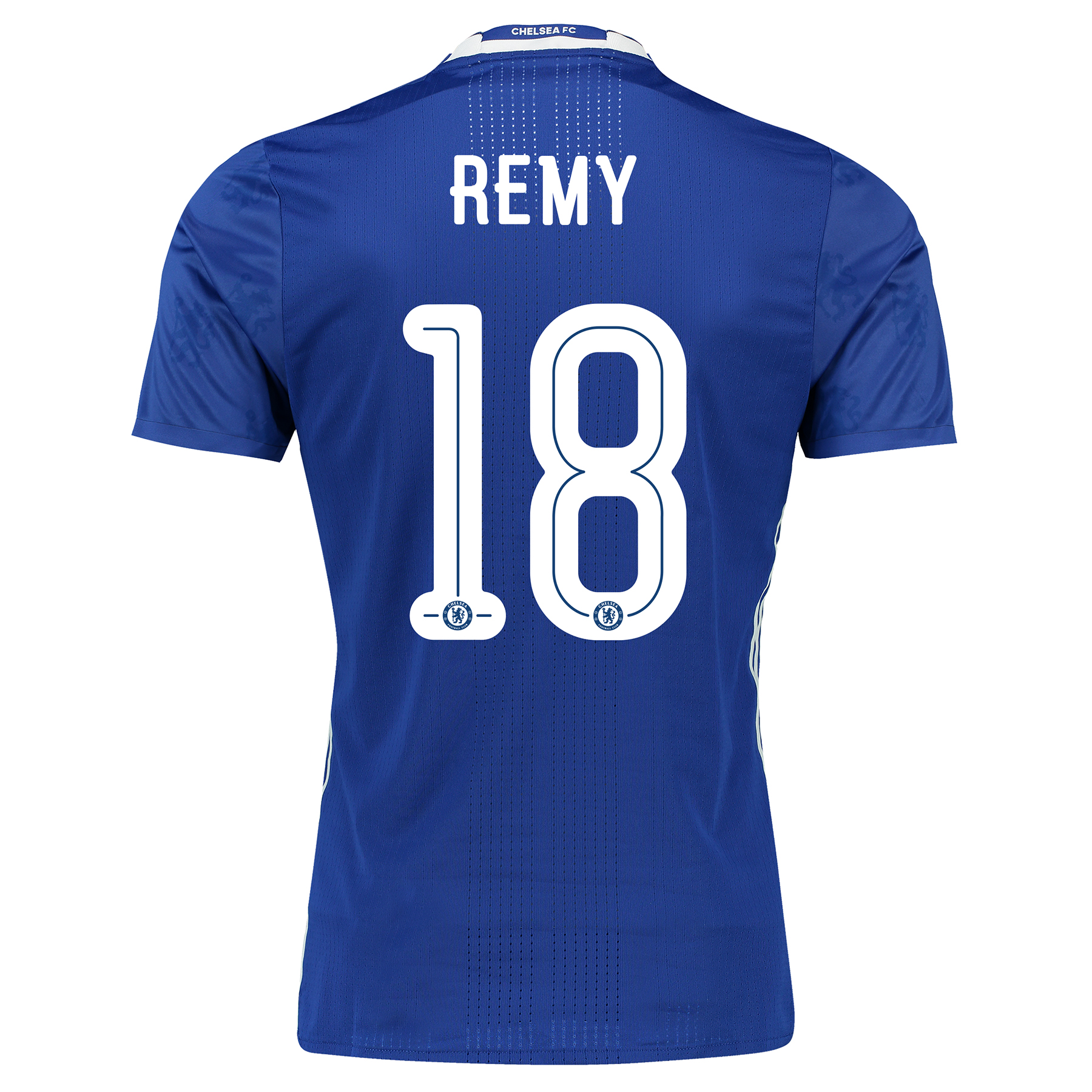 Chelsea Linear Home Adi Zero Shirt 2016-17 with Remy 18 printing