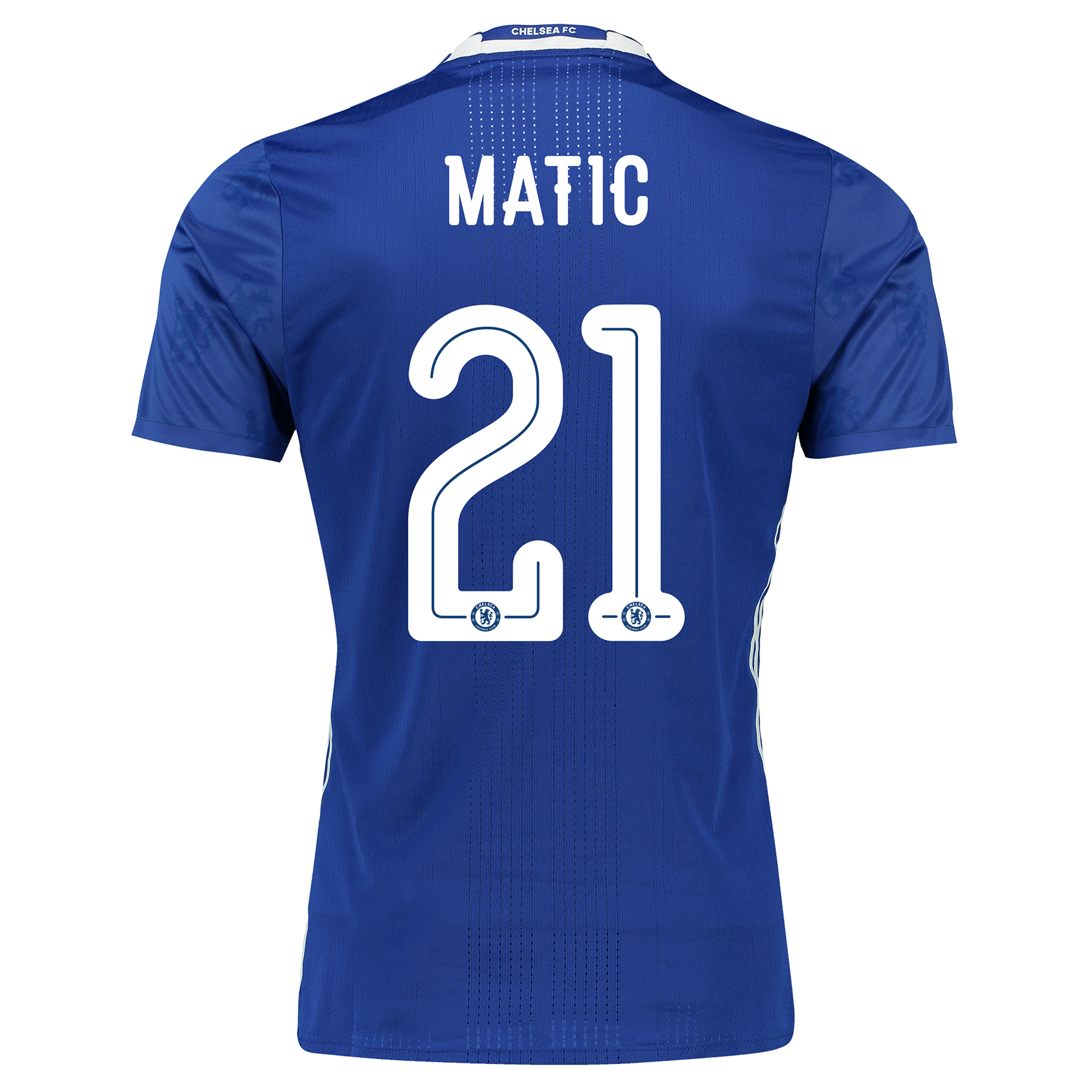 Chelsea Linear Home Adi Zero Shirt 2016-17 with Matic 21 printing
