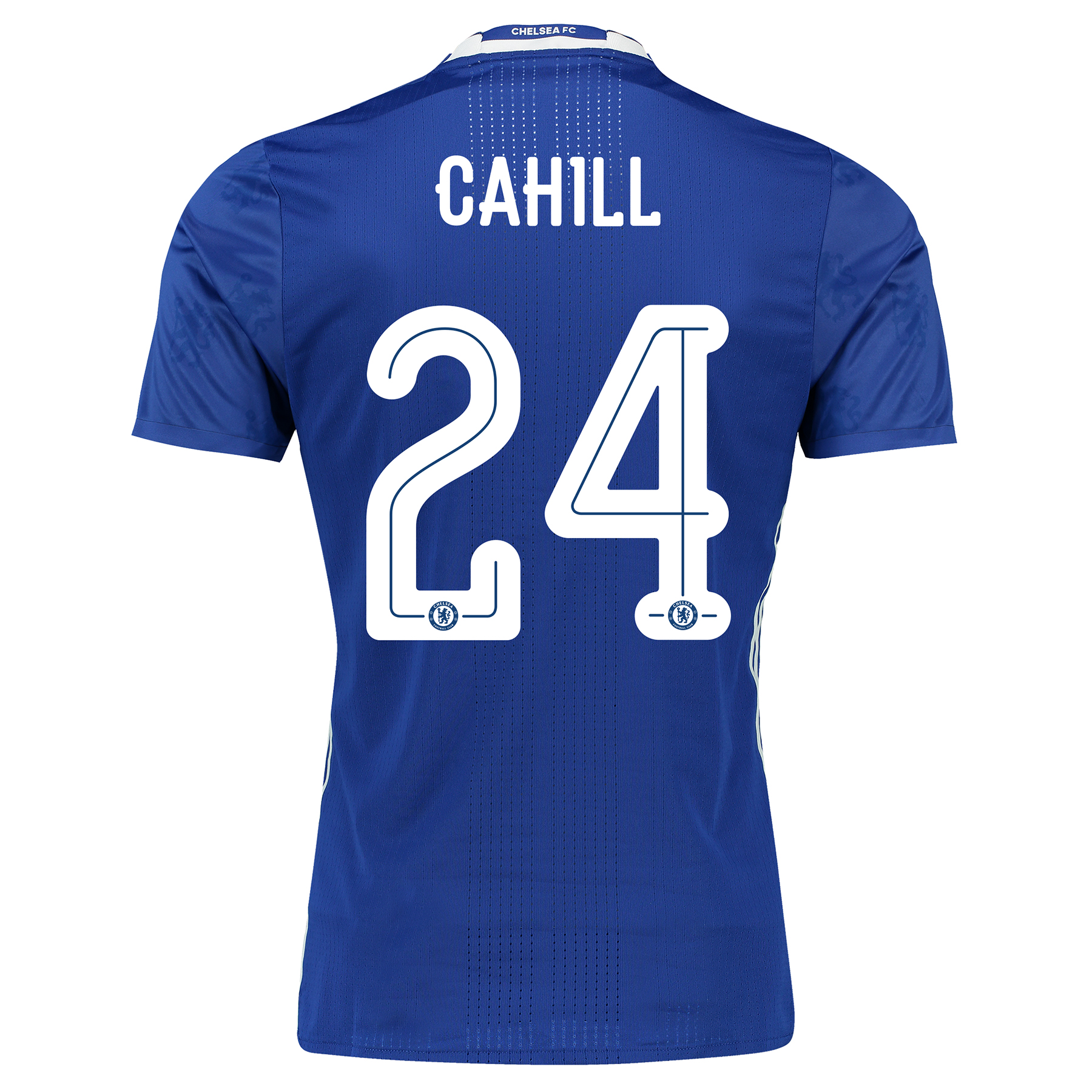 Chelsea Linear Home Adi Zero Shirt 2016-17 with Cahill 24 printing