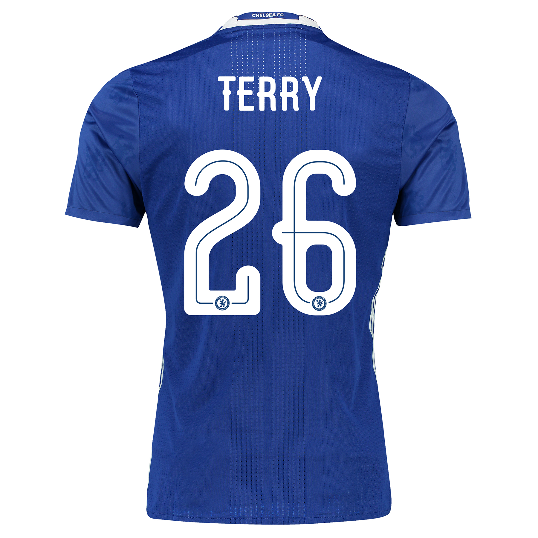 Chelsea Linear Home Adi Zero Shirt 2016-17 with Terry 26 printing