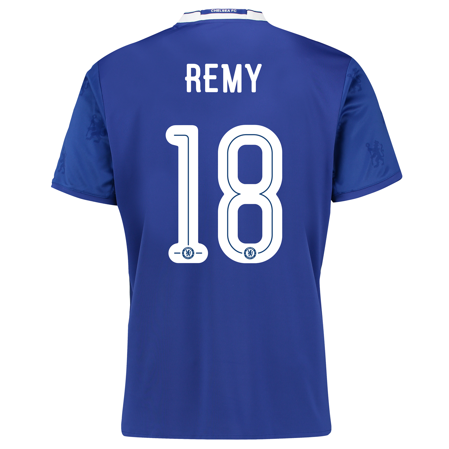 Chelsea Linear Home Shirt 2016-17 with Remy 18 printing