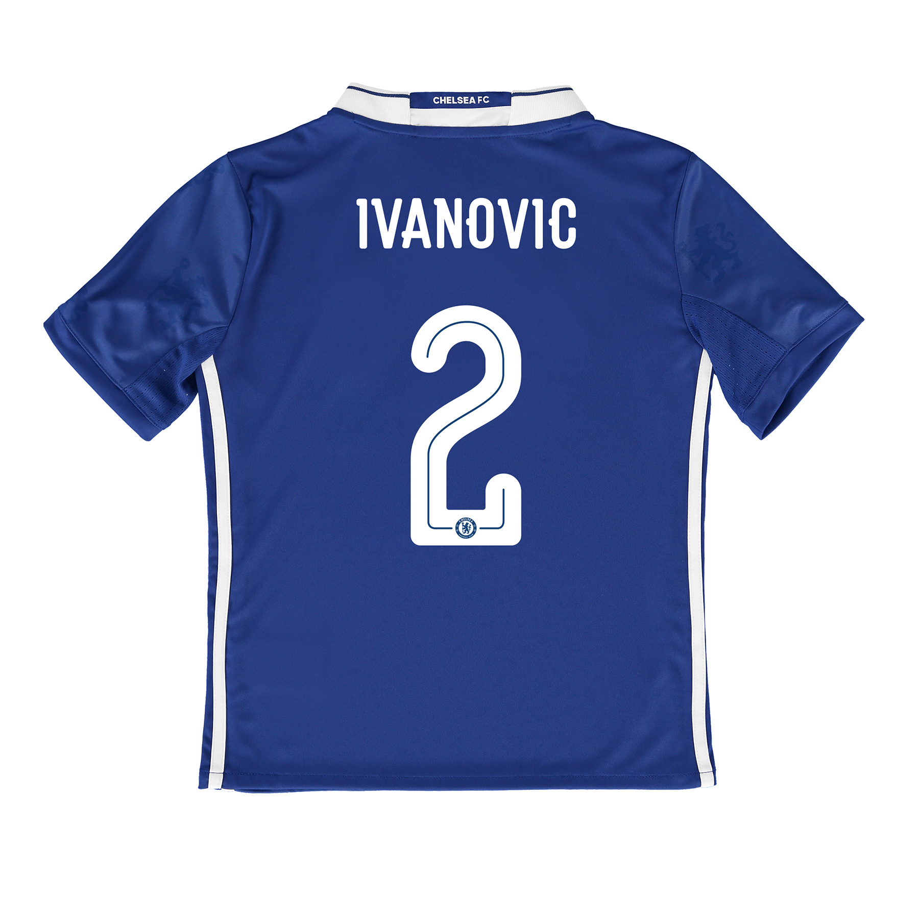 Chelsea Linear Home Shirt 2016-17 - Kids with Ivanovic 2 printing