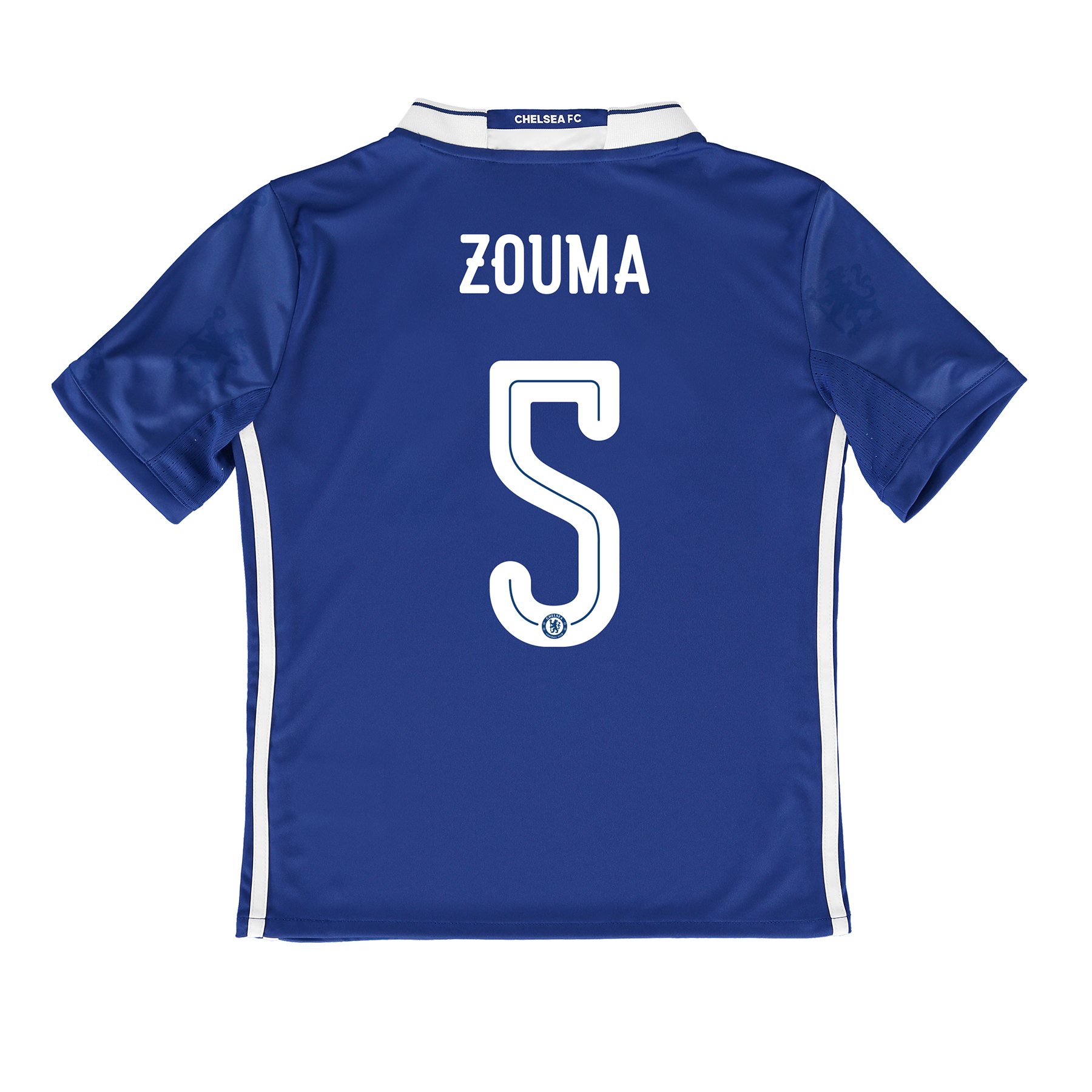 Chelsea Linear Home Shirt 2016-17 - Kids with ZOUMA 5 printing
