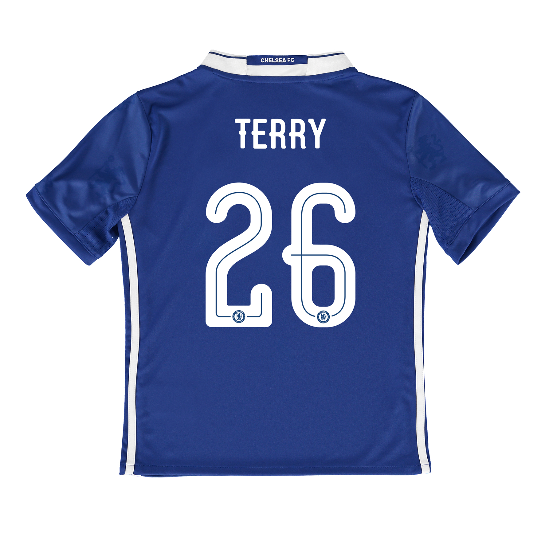 Chelsea Linear Home Shirt 2016-17 - Kids with Terry 26 printing