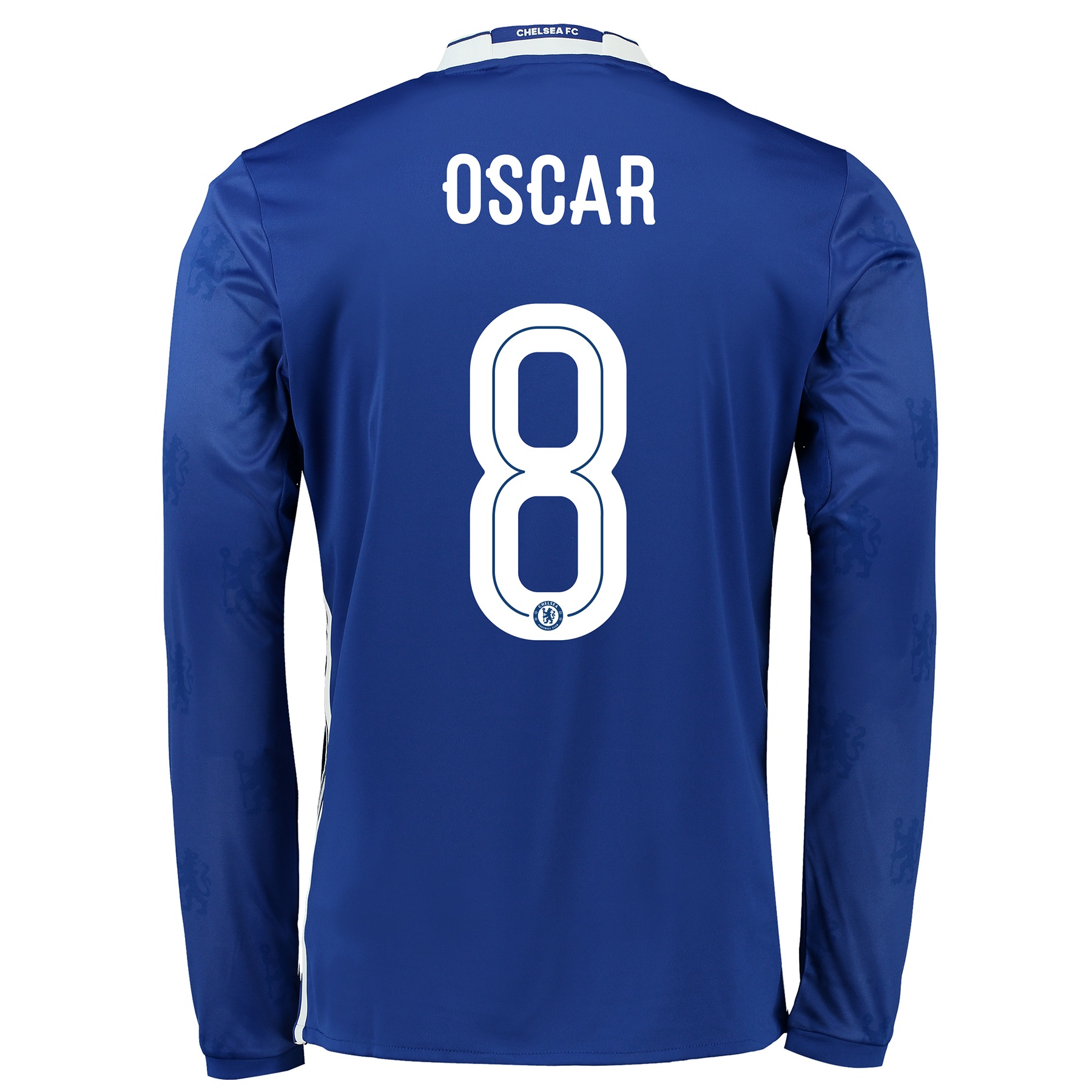 Chelsea Linear Home Shirt 2016-17 - Kids - Long Sleeve with Oscar 8 pr
