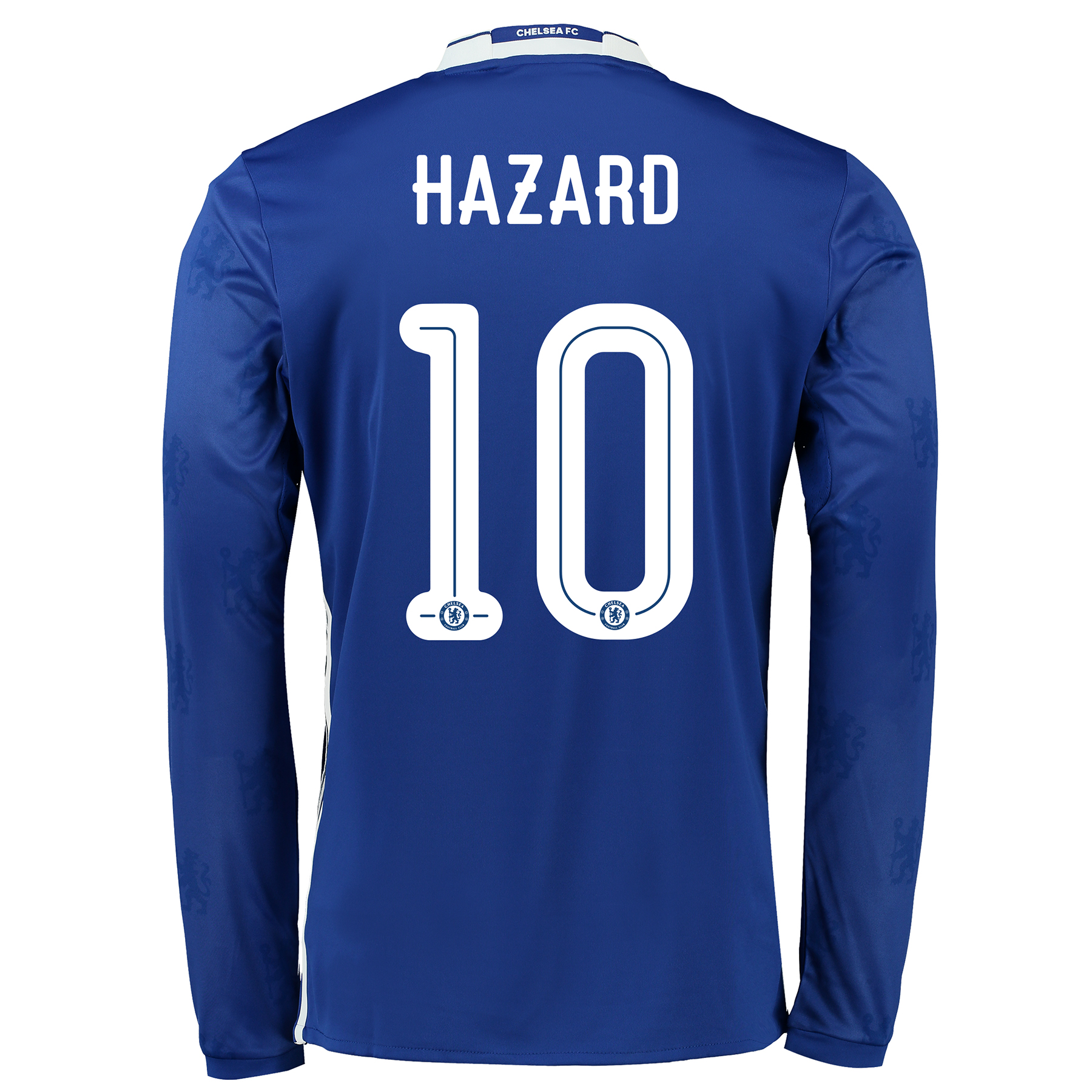 Chelsea Linear Home Shirt 2016-17 - Kids - Long Sleeve with Hazard 10