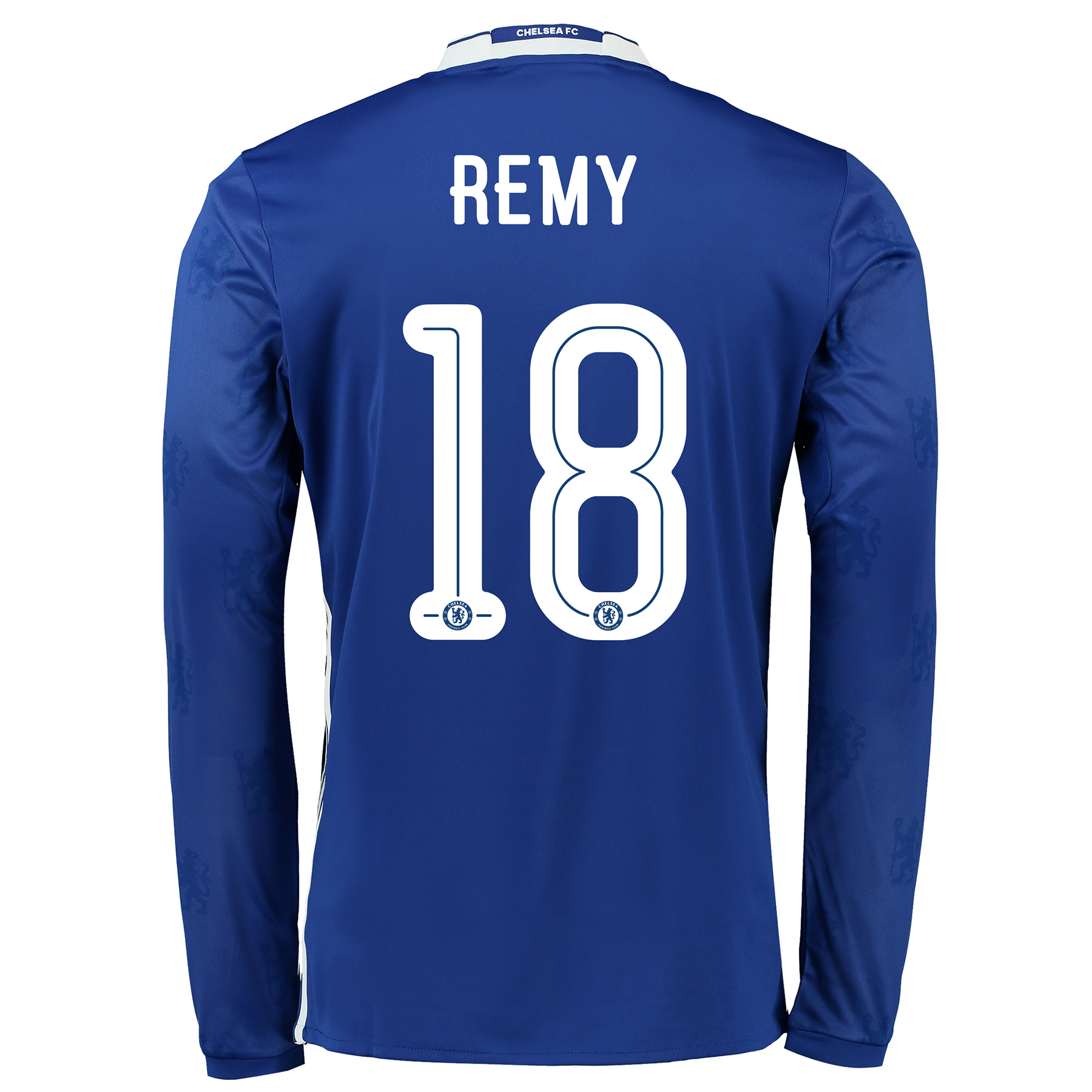 Chelsea Linear Home Shirt 2016-17 - Kids - Long Sleeve with Remy 18 pr