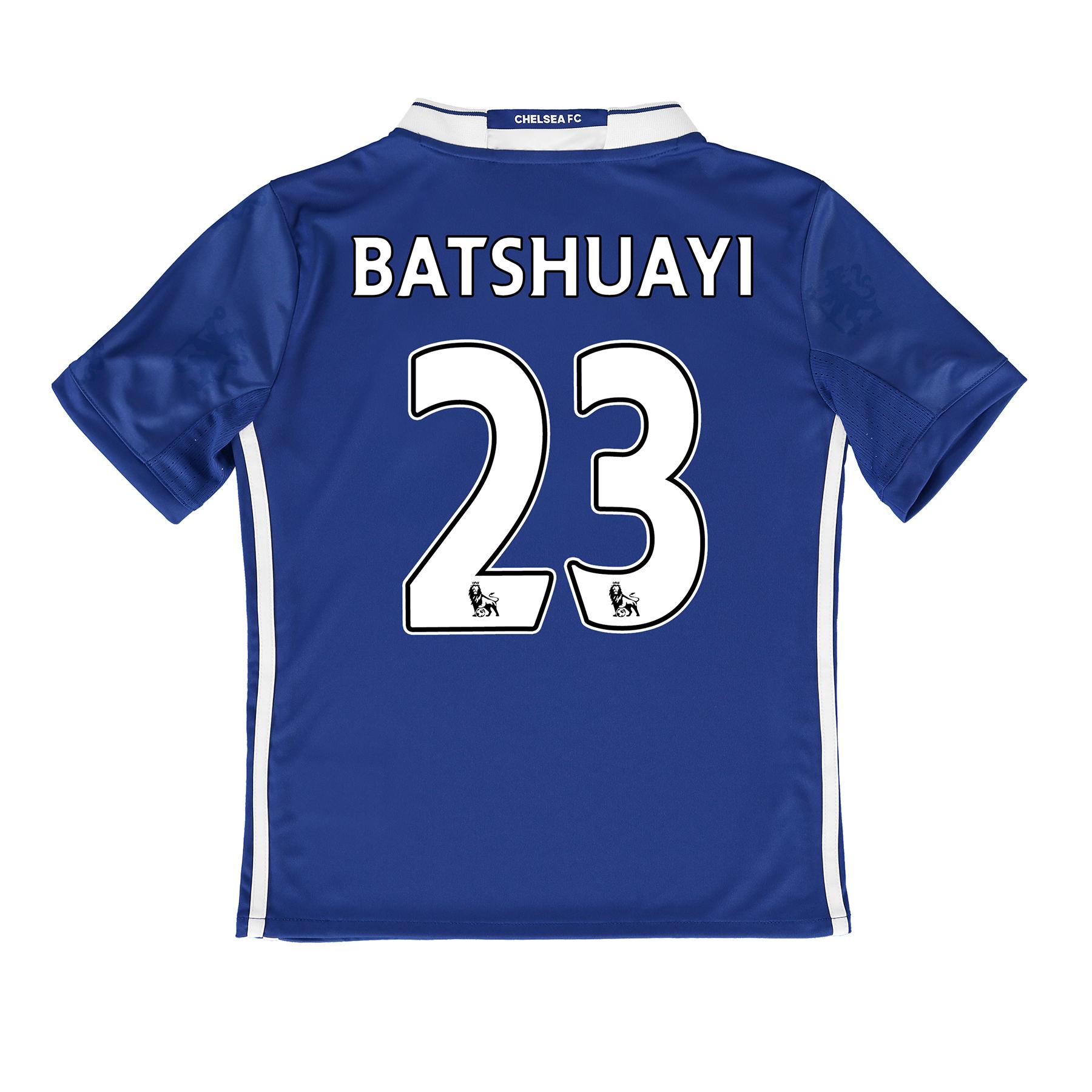 Chelsea Home Shirt 2016-17 - Kids with Batshuayi 23 printing