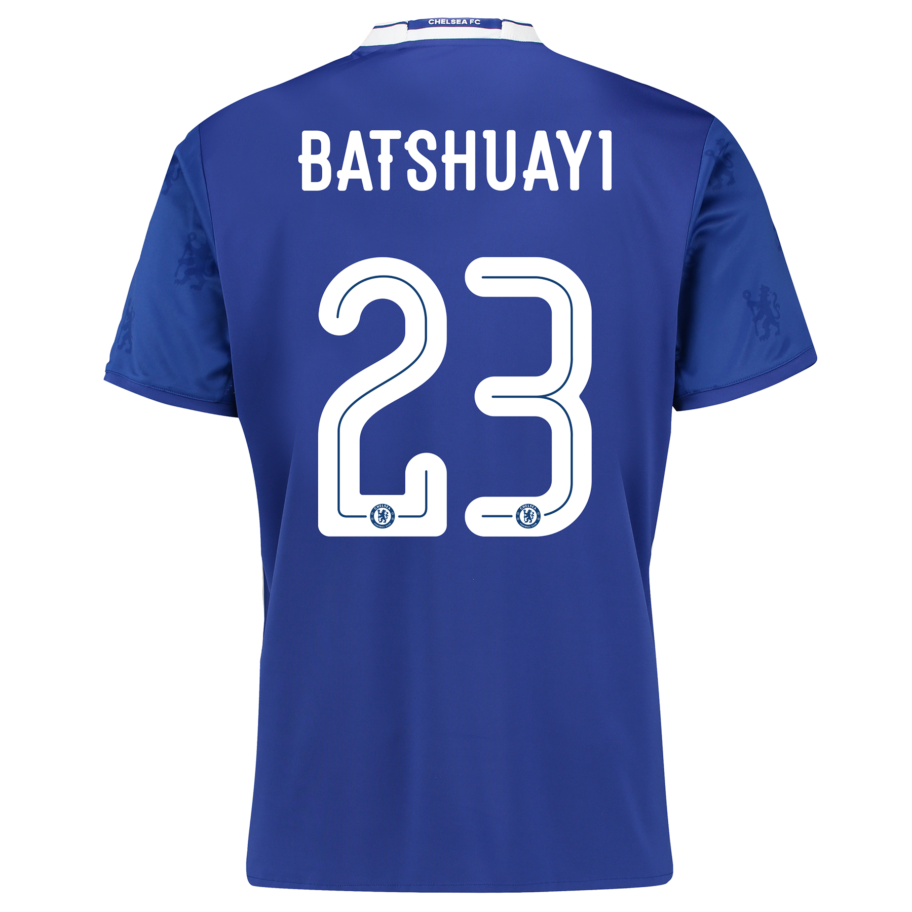 Chelsea Linear Home Shirt 2016-17 with Batshuayi 23 printing