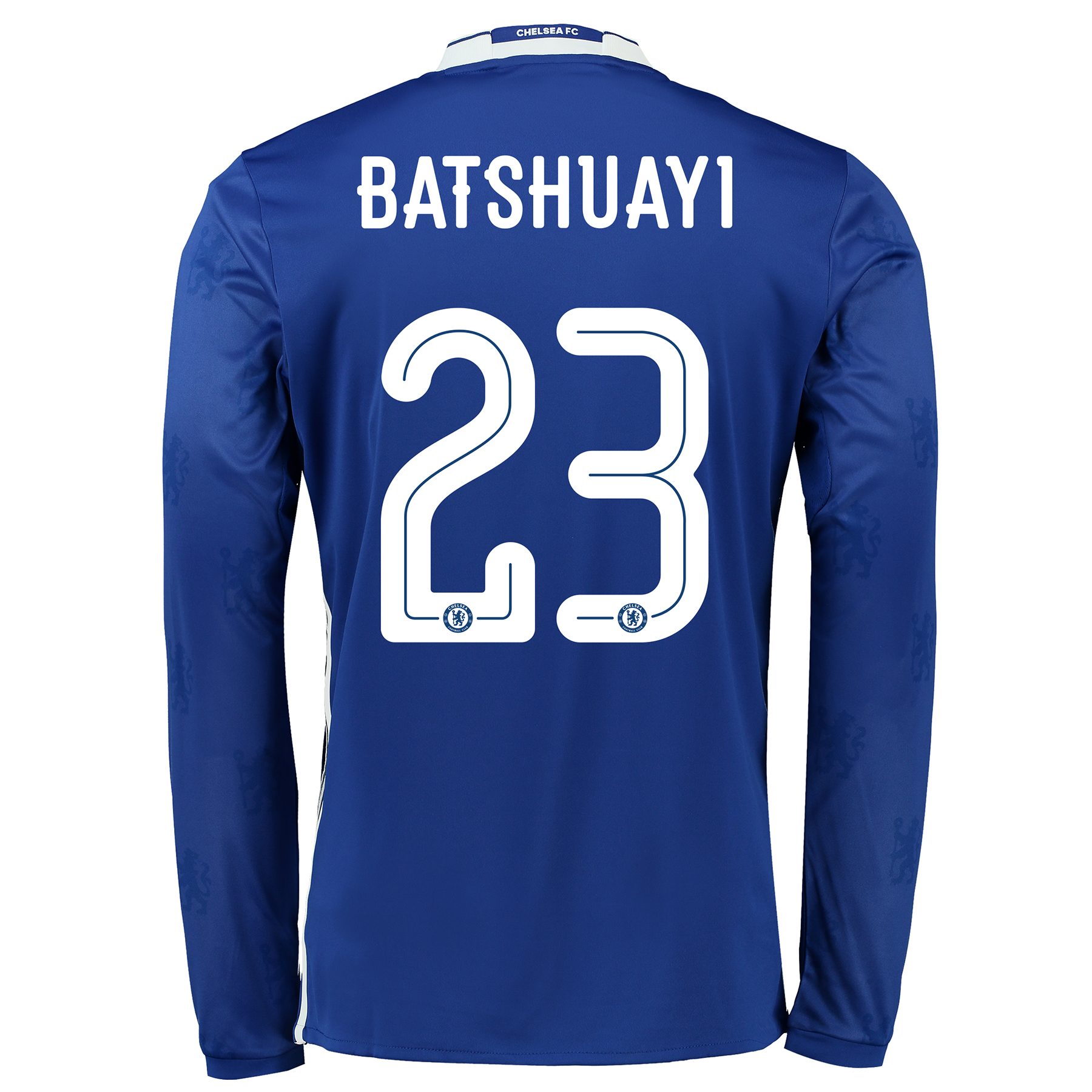 Chelsea Linear Home Shirt 2016-17 - Long Sleeve with Batshuayi 23 prin