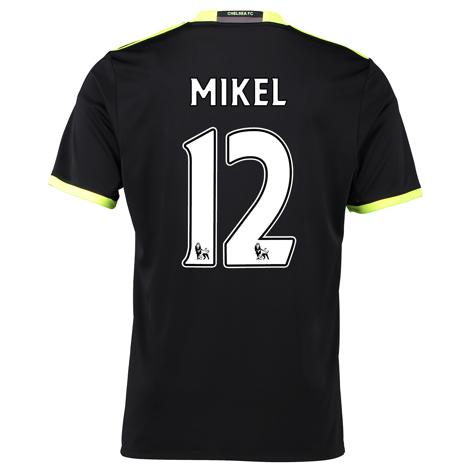 Chelsea Away Shirt 16-17 with Mikel 12 printing