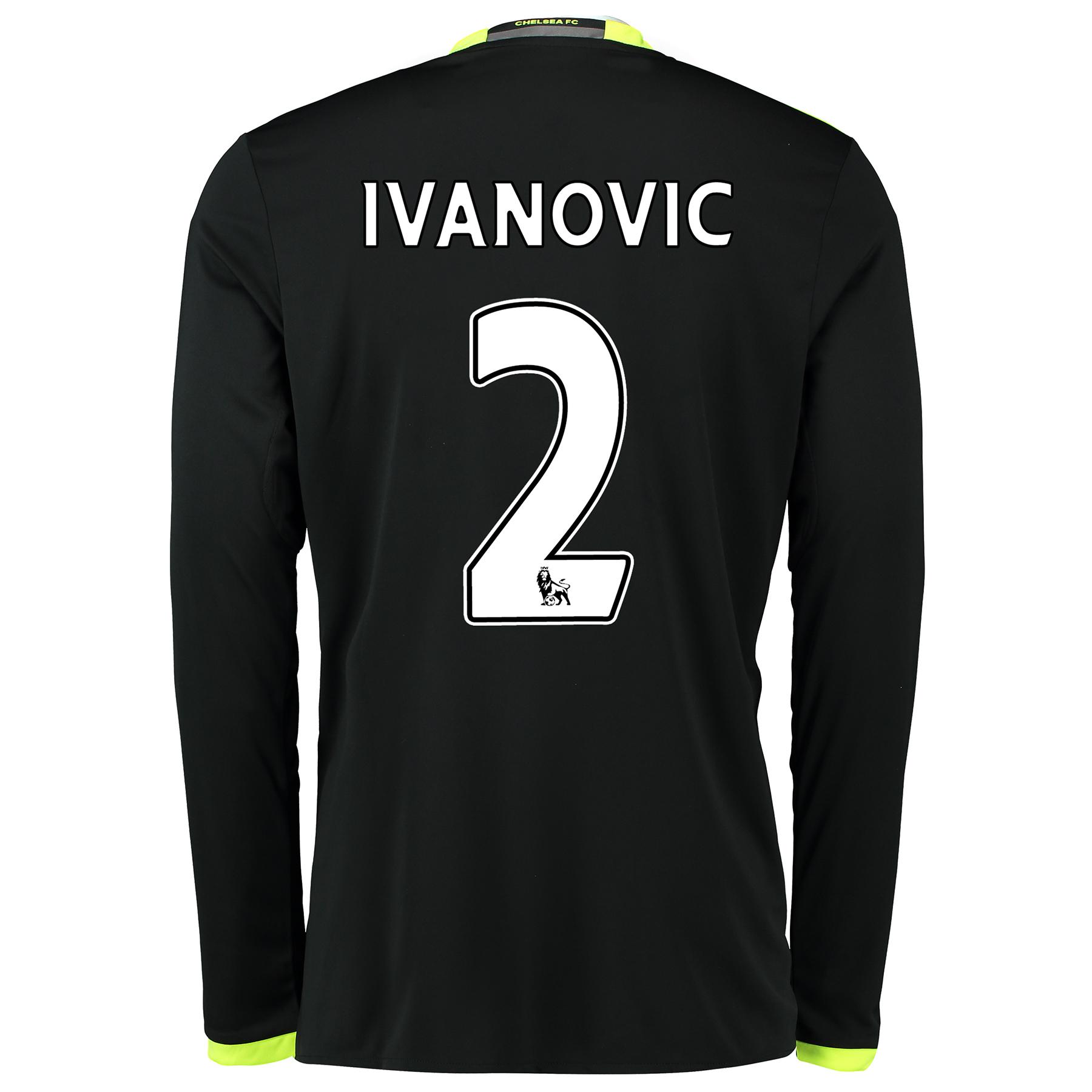 Chelsea Away Shirt 16-17 - Long Sleeve with Ivanovic 2 printing