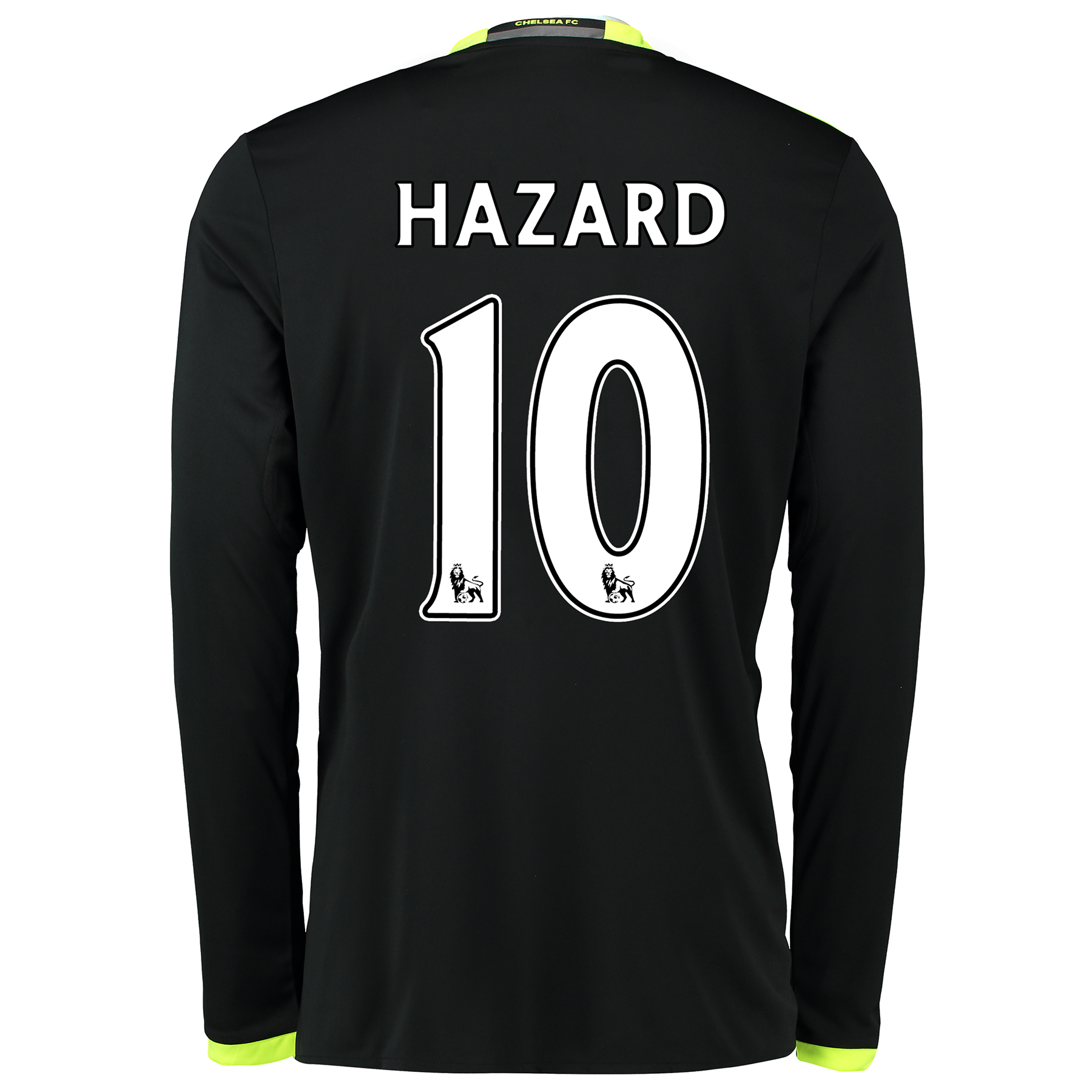Chelsea Away Shirt 16-17 - Long Sleeve with Hazard 10 printing