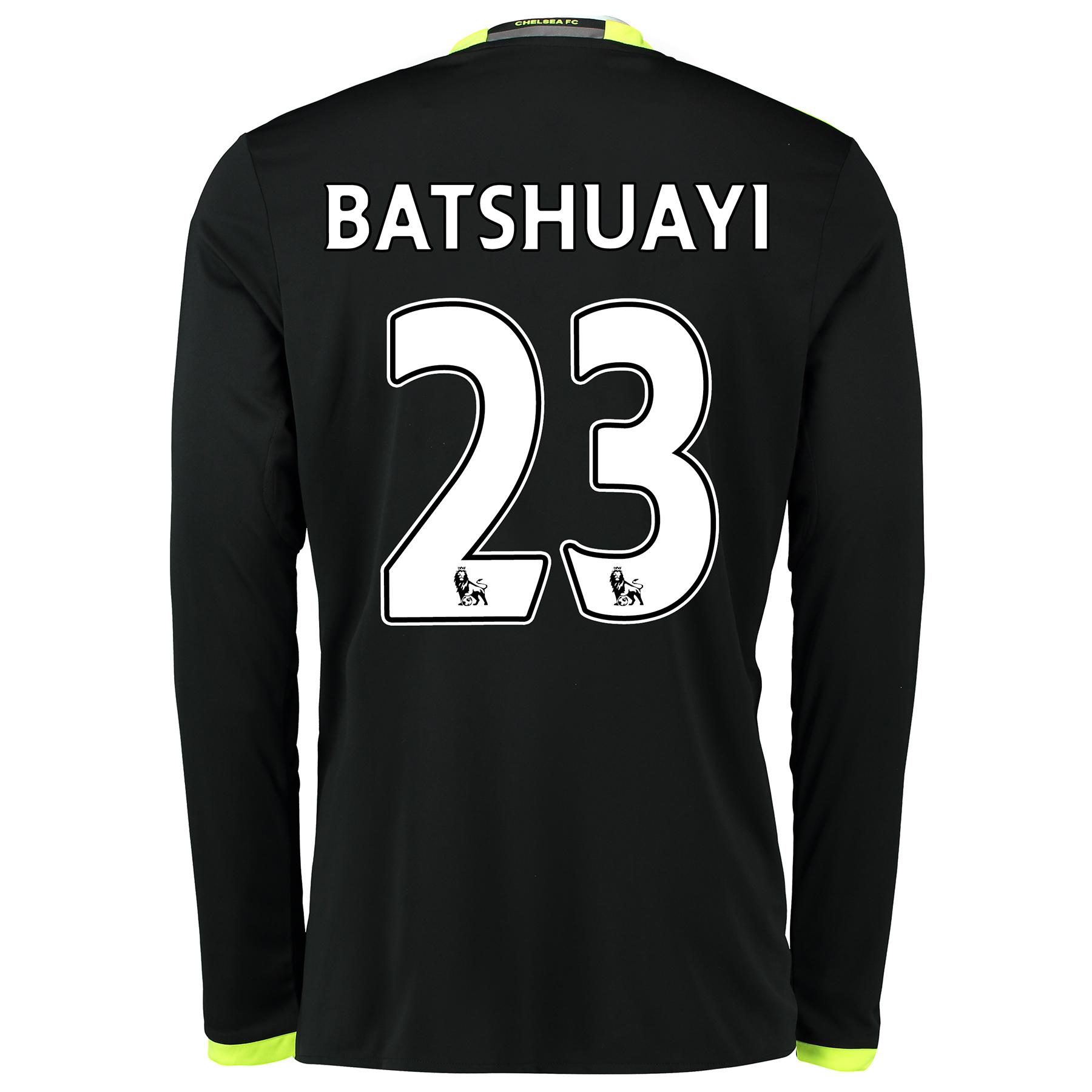 Chelsea Away Shirt 16-17 - Long Sleeve with Batshuayi 23 printing