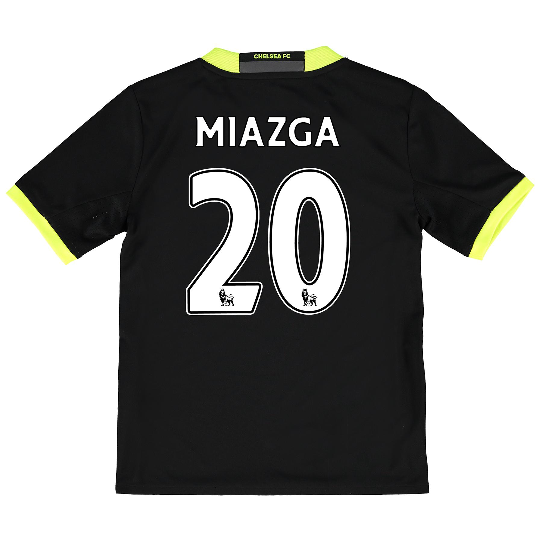 Chelsea Away Shirt 16-17 - Kids with Miazga 20 printing