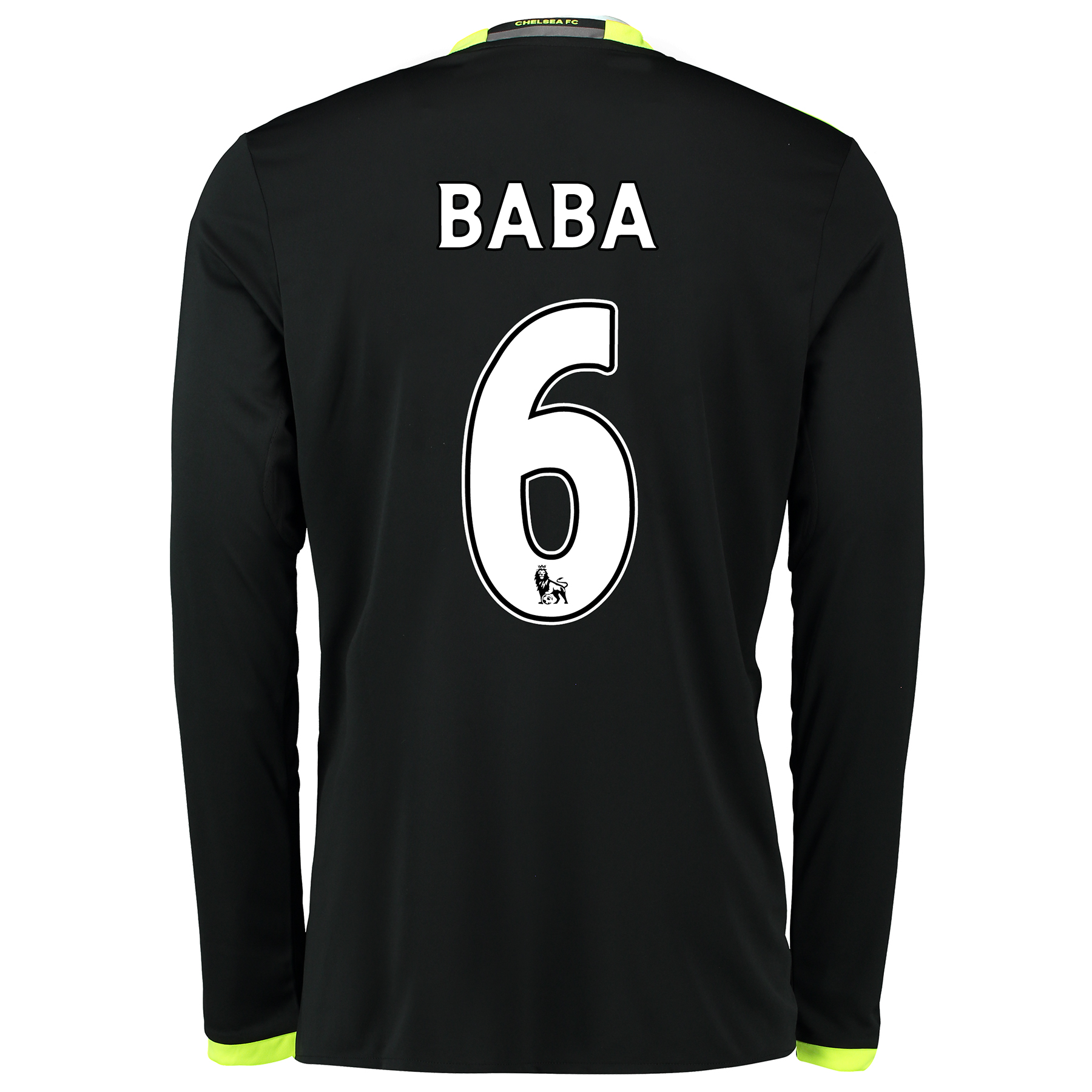 Chelsea Away Shirt 16-17 - Kids - Long Sleeve with Baba 6 printing