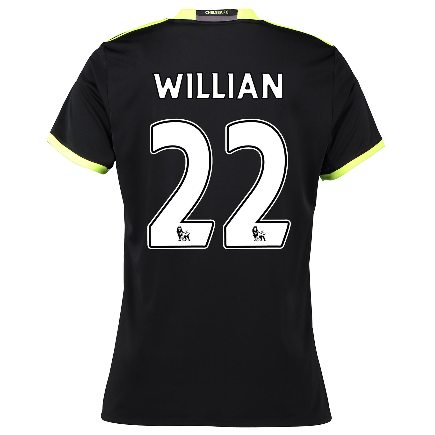 Chelsea Away Shirt 16-17 - Womens with Willian 22 printing