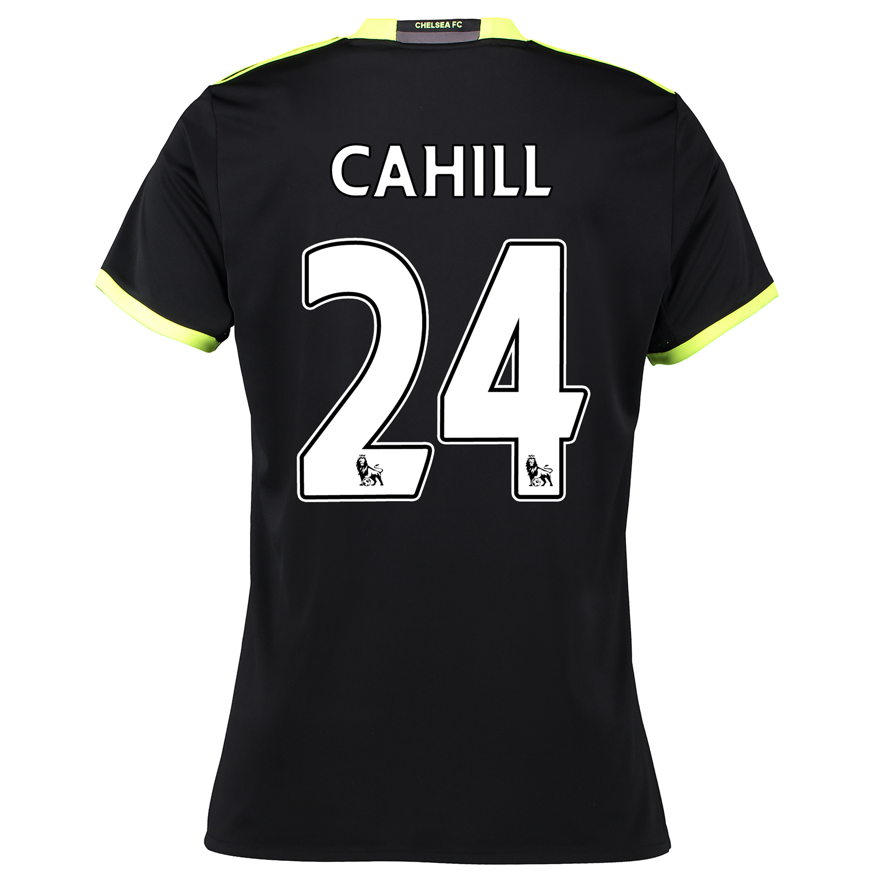 Chelsea Away Shirt 16-17 - Womens with Cahill 24 printing