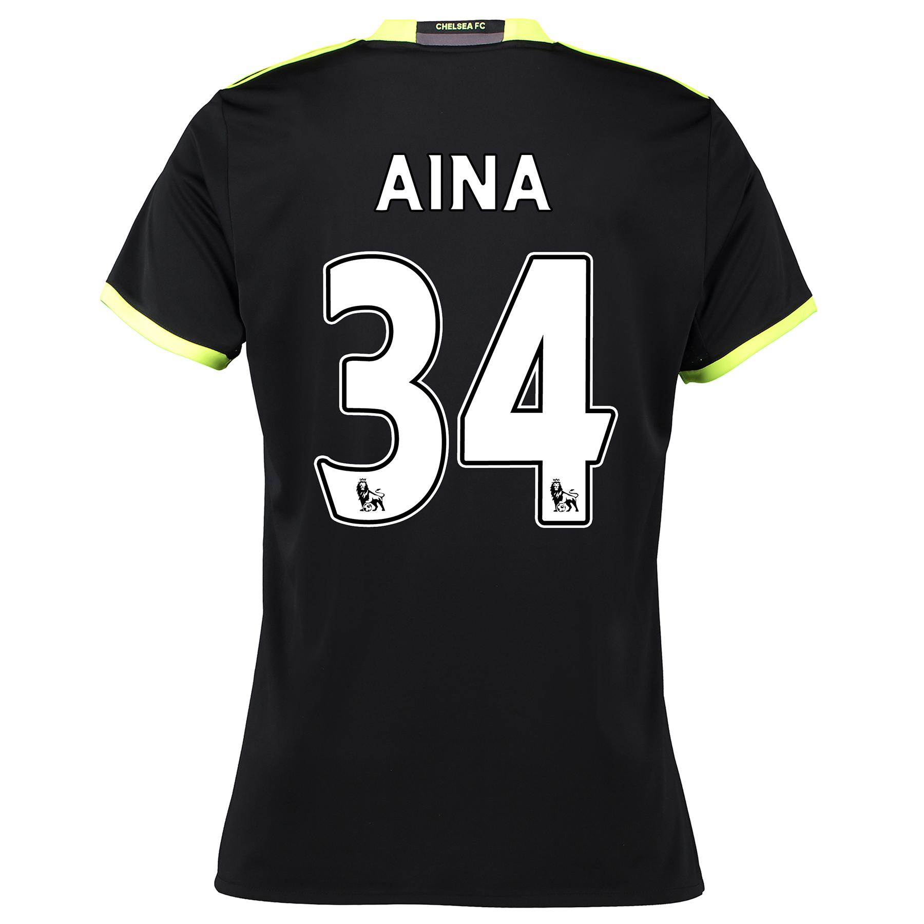 Chelsea Away Shirt 16-17 - Womens with Aina 34 printing