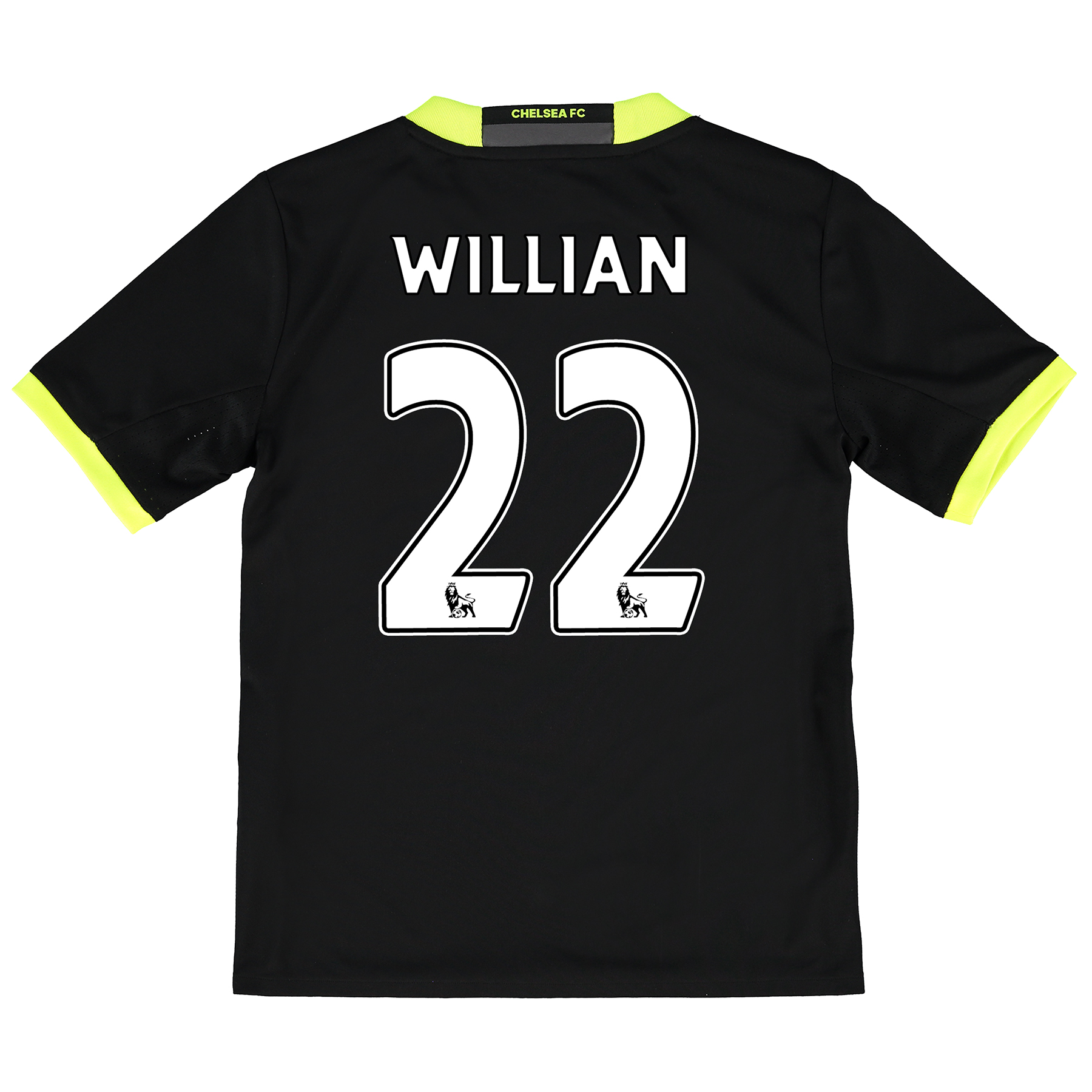 Chelsea Away Baby Kit 16-17 with Willian 22 printing