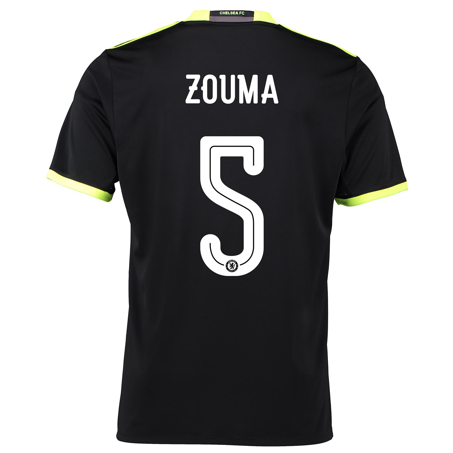 Chelsea Linear Away Shirt 16-17 with ZOUMA 5 printing