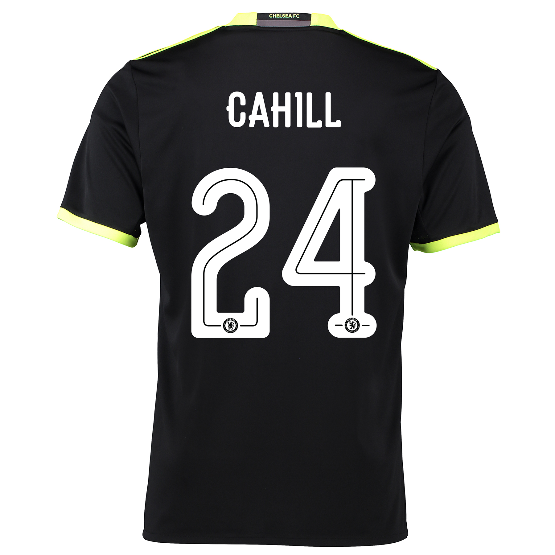 Chelsea Linear Away Shirt 16-17 with Cahill 24 printing