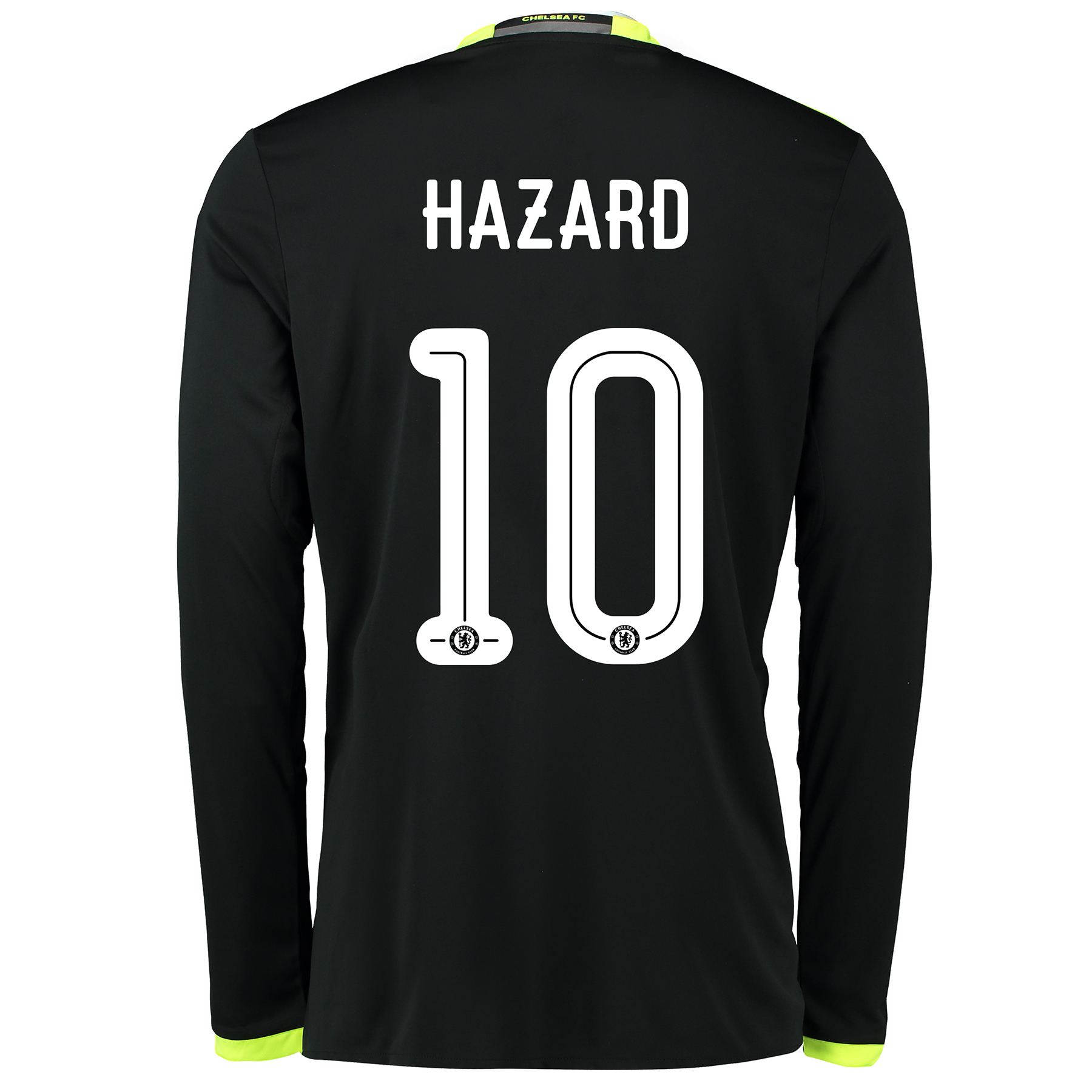 Chelsea Linear Away Shirt 16-17 - Long Sleeve with Hazard 10 printing