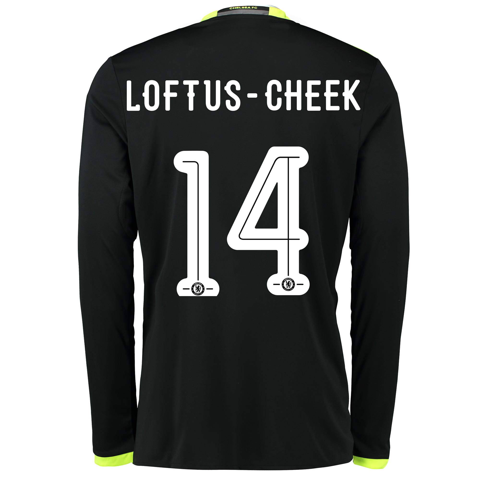 Chelsea Linear Away Shirt 16-17 - Long Sleeve with Loftus-Cheek 14 pri