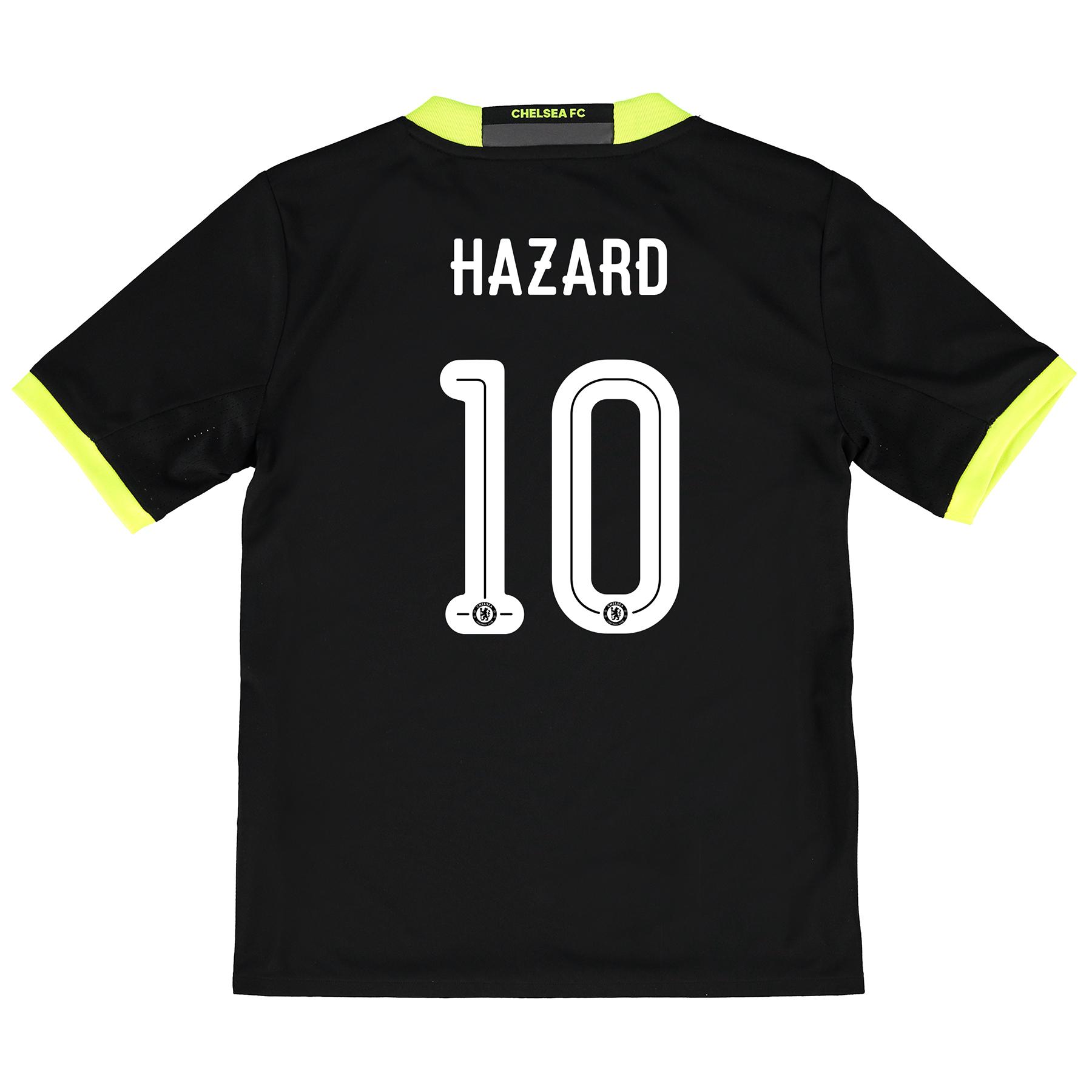 Chelsea Linear Away Shirt 16-17 - Kids with Hazard 10 printing