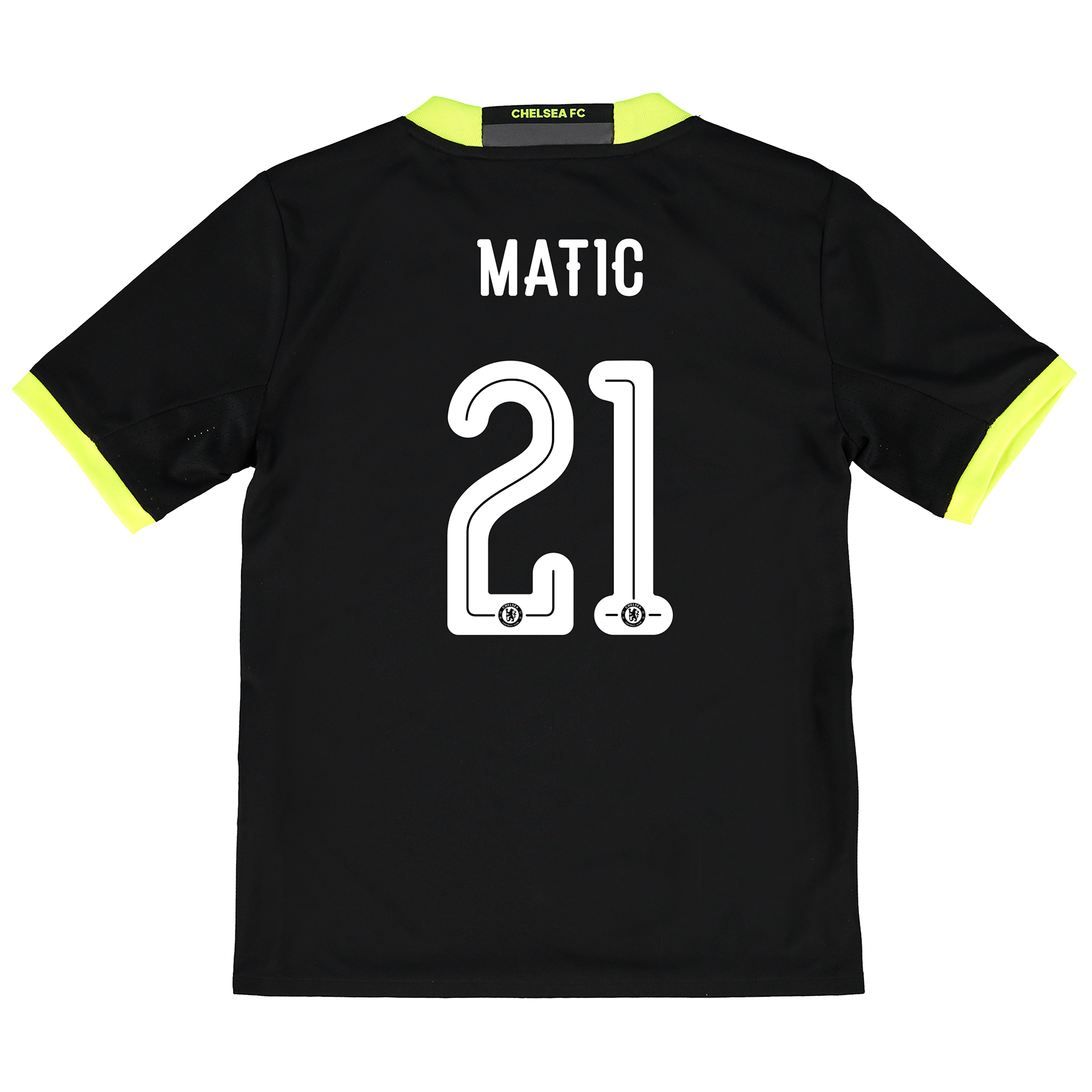 Chelsea Linear Away Shirt 16-17 - Kids with Matic 21 printing