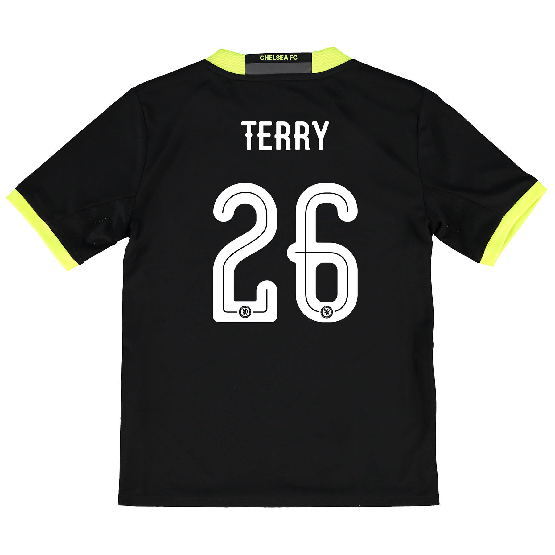 Chelsea Linear Away Shirt 16-17 - Kids with Terry 26 printing