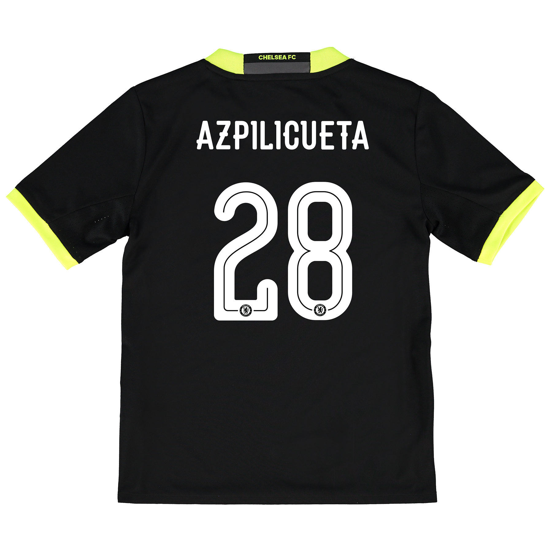 Chelsea Linear Away Shirt 16-17 - Kids with Azpilicueta 28 printing